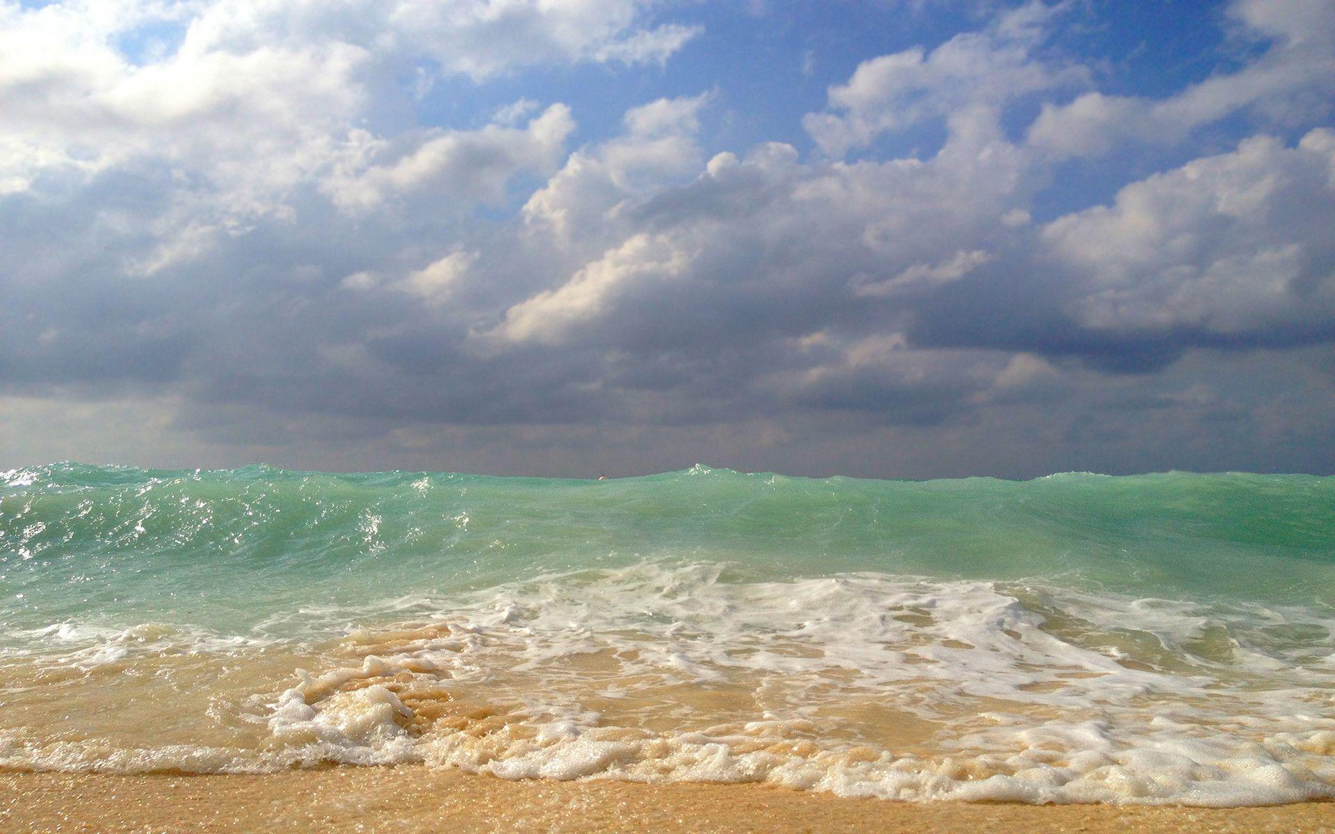 Beach Waves Wallpapers For Desktop Beach Waves: Ocean Beach Wallpapers