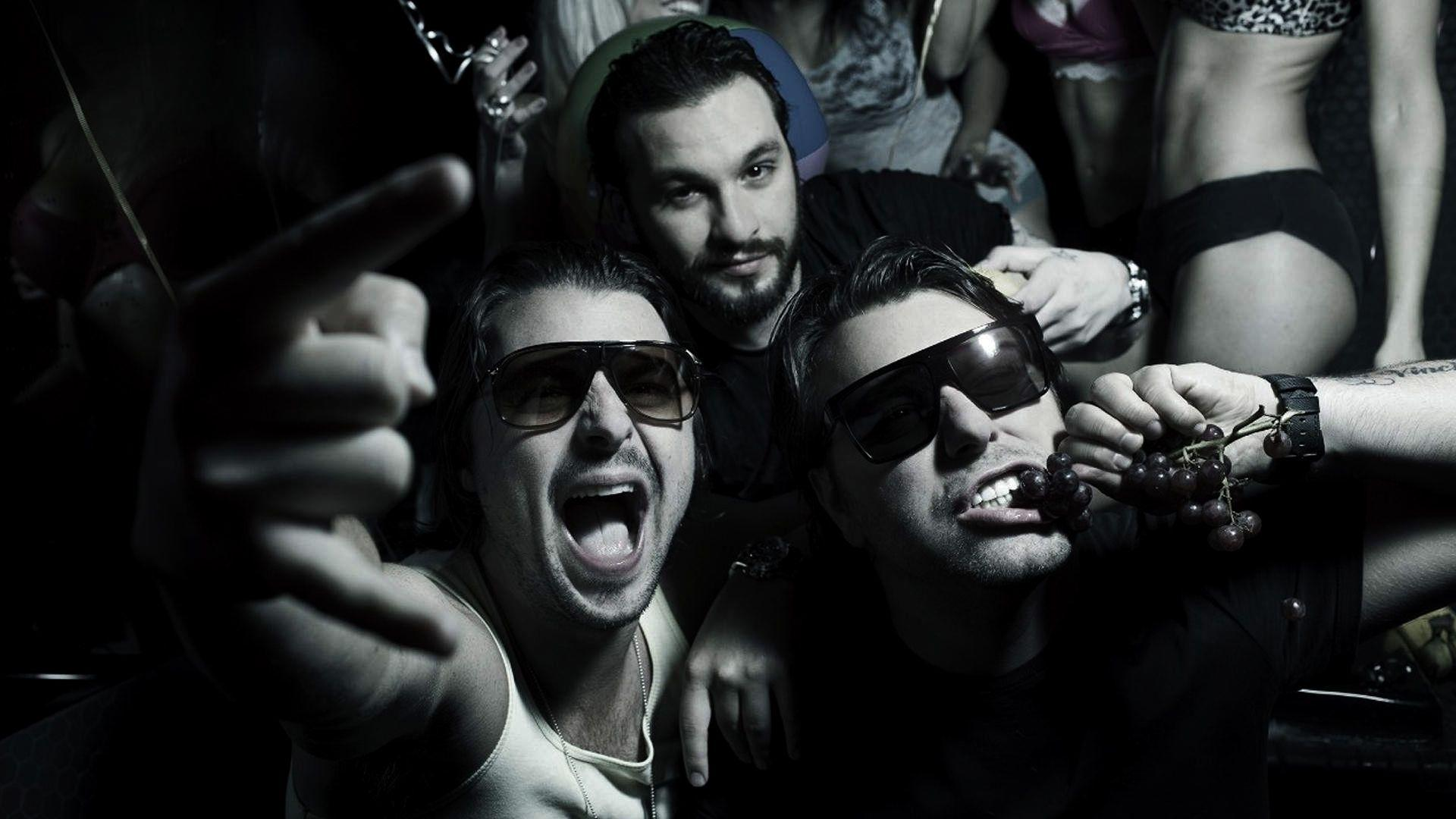 Wallpaper swedish house mafia, axwell, steve angello, sebastian ...
