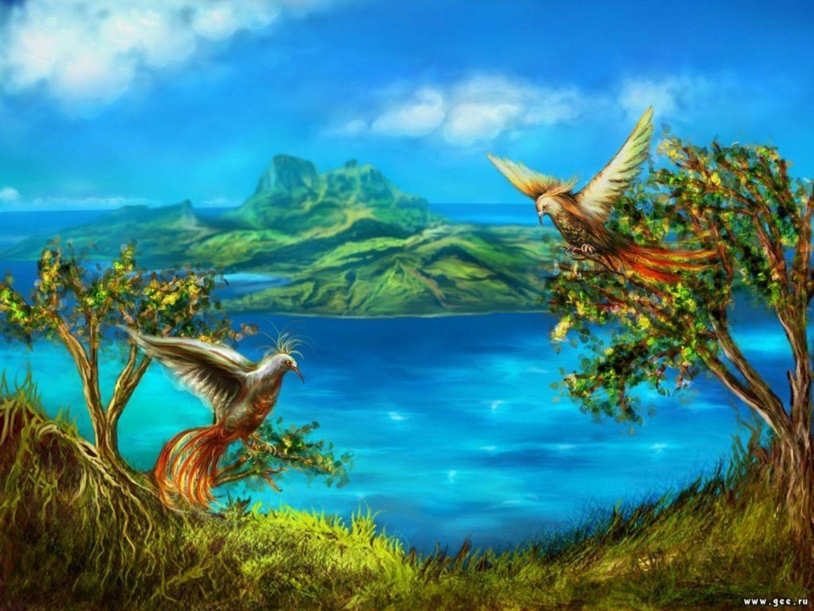 NATURE DIGITAL ART HD WALLPAPERS   FREE HD WALLPAPERS  Nature Background Art
