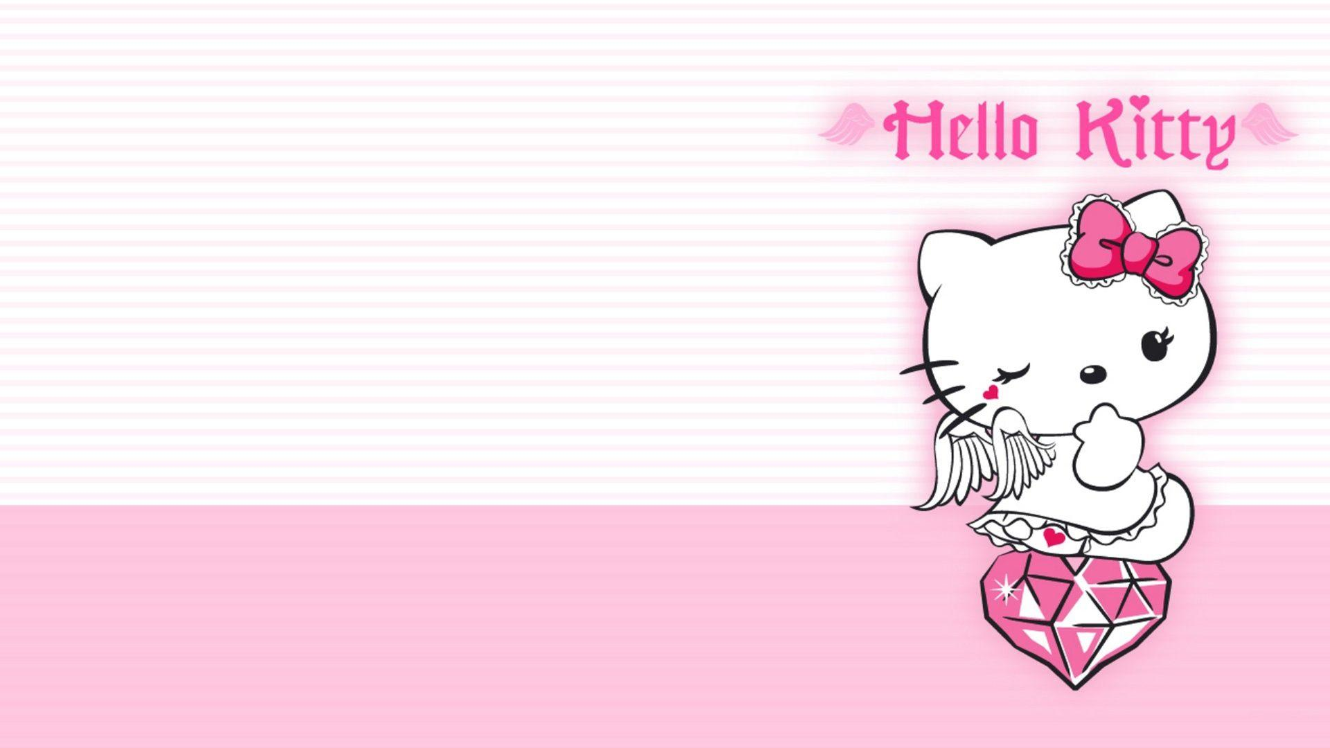 Backgrounds Hello Kitty Wallpaper Cave