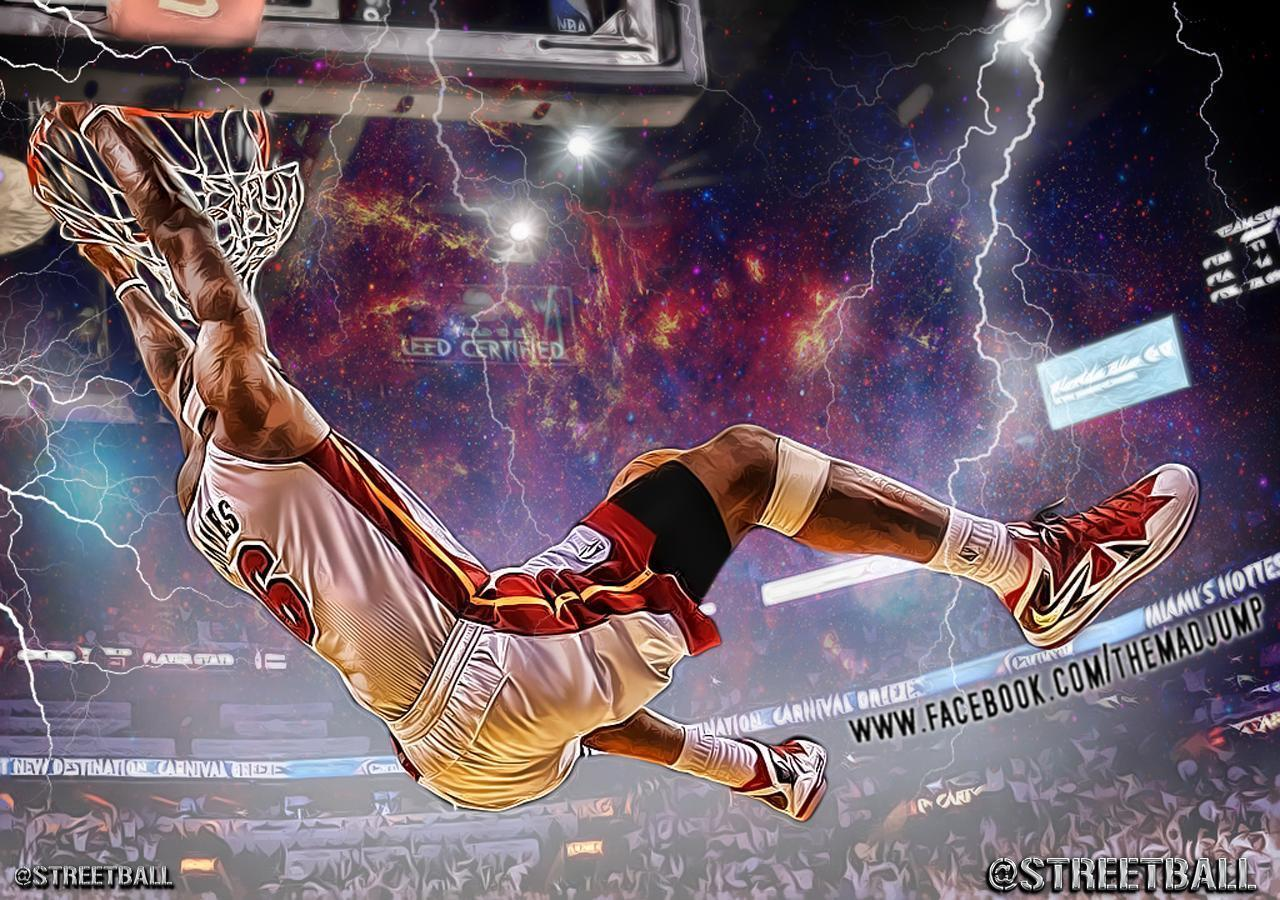 lebron james 2014 dunk wallpapers