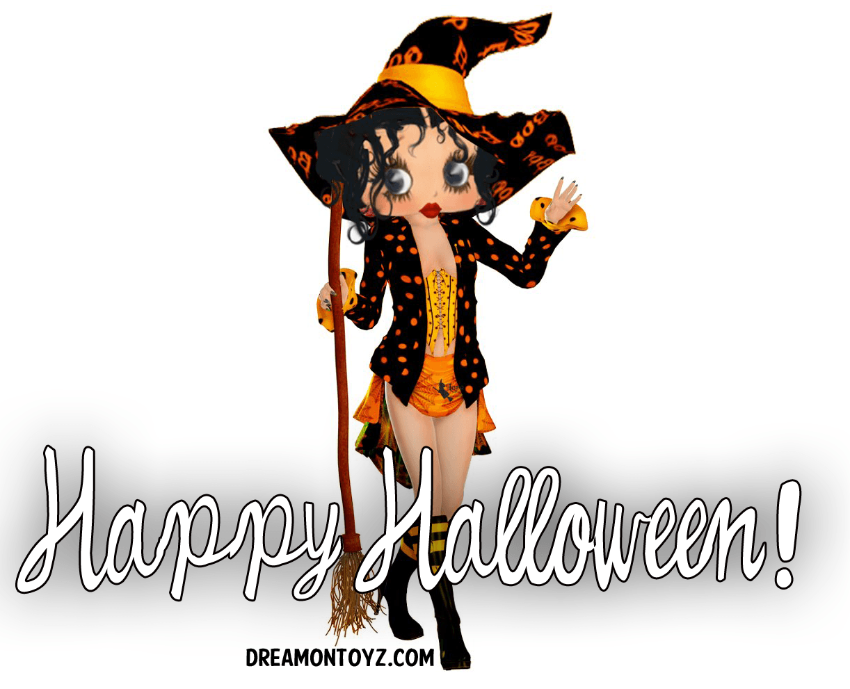 betty boop halloween wallpapers - wallpaper cave