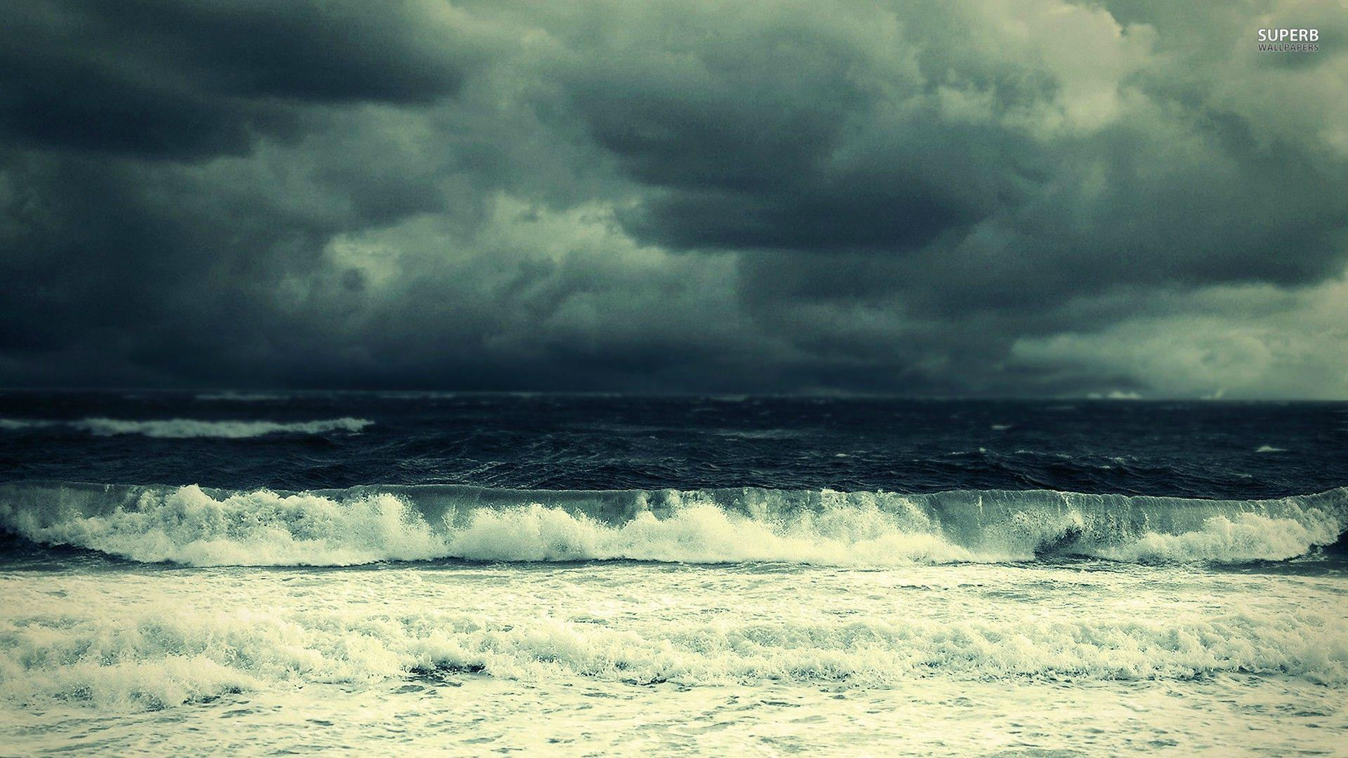 Stormy sea wallpapers