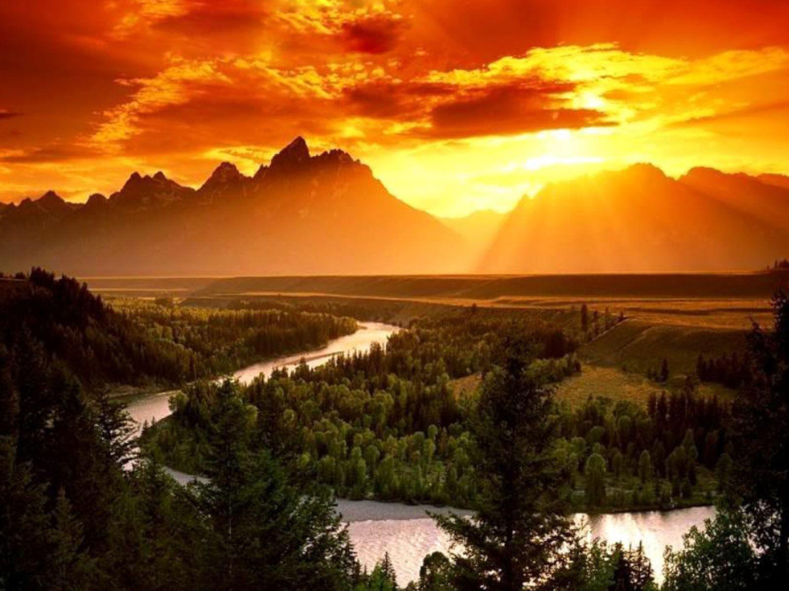 Mountain Sunrise Wallpapers 1 | Thorson Coaching