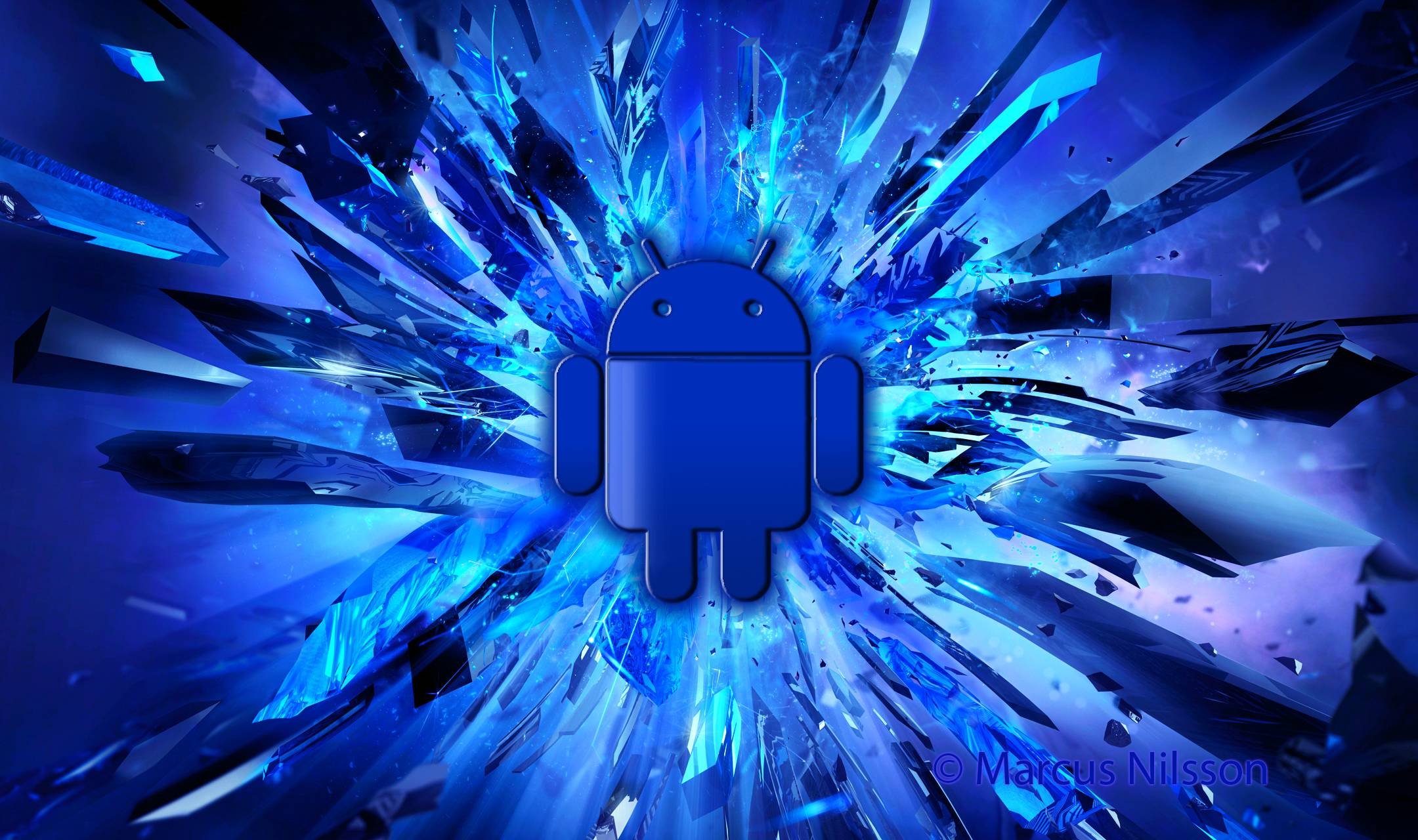 Android Wallpapers Blue Cc Android 5