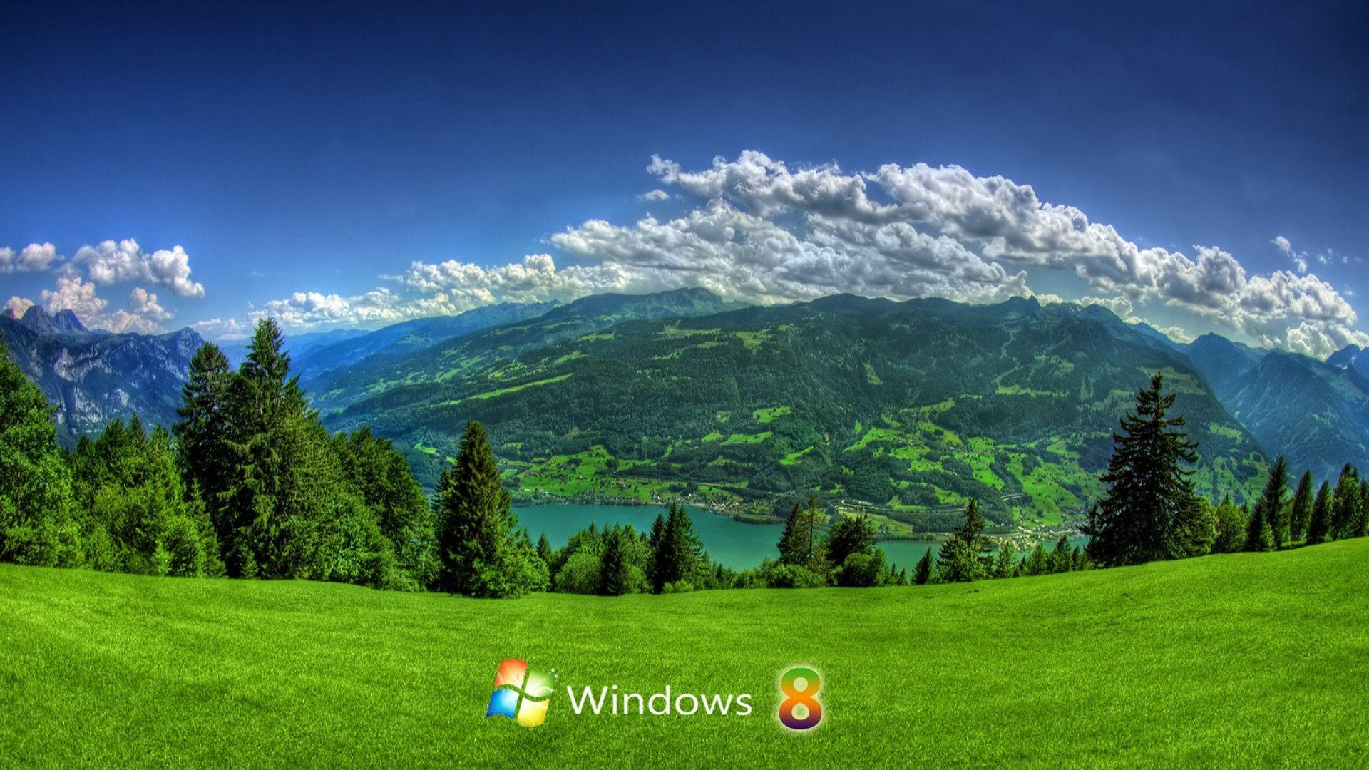 Landscape Windows 8 Exclusive HD Wallpapers #