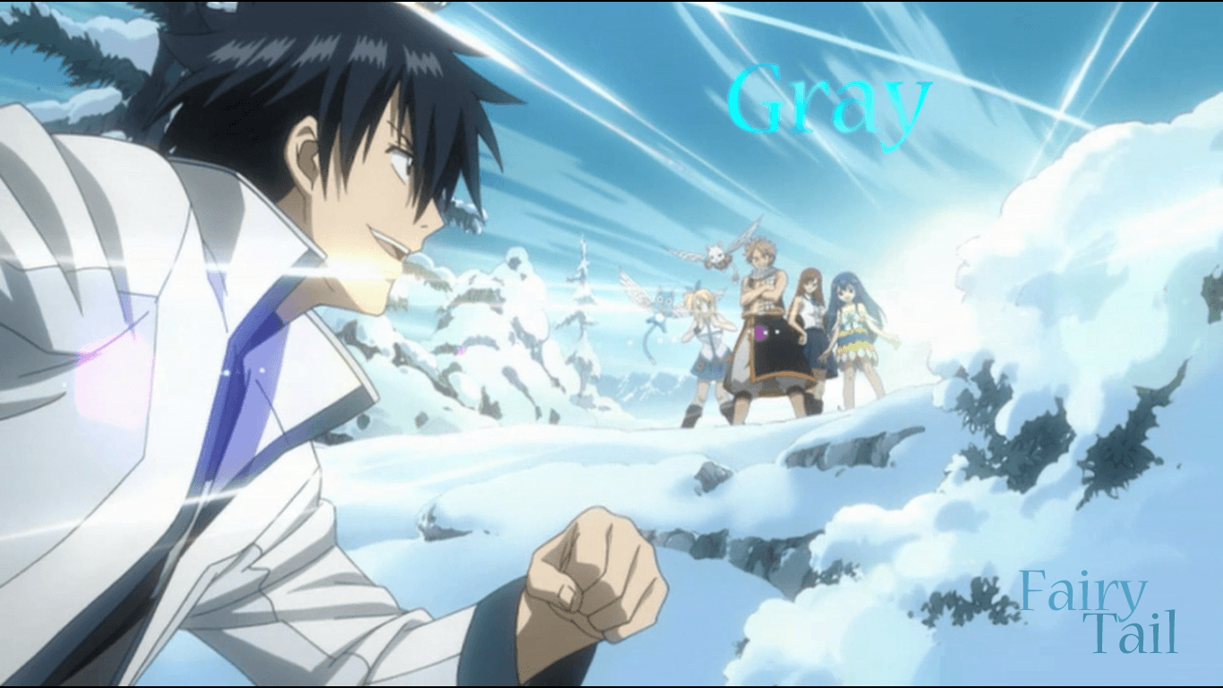 Download Fairy Tail Gray By Nuroo On Deviantart Wallpaper