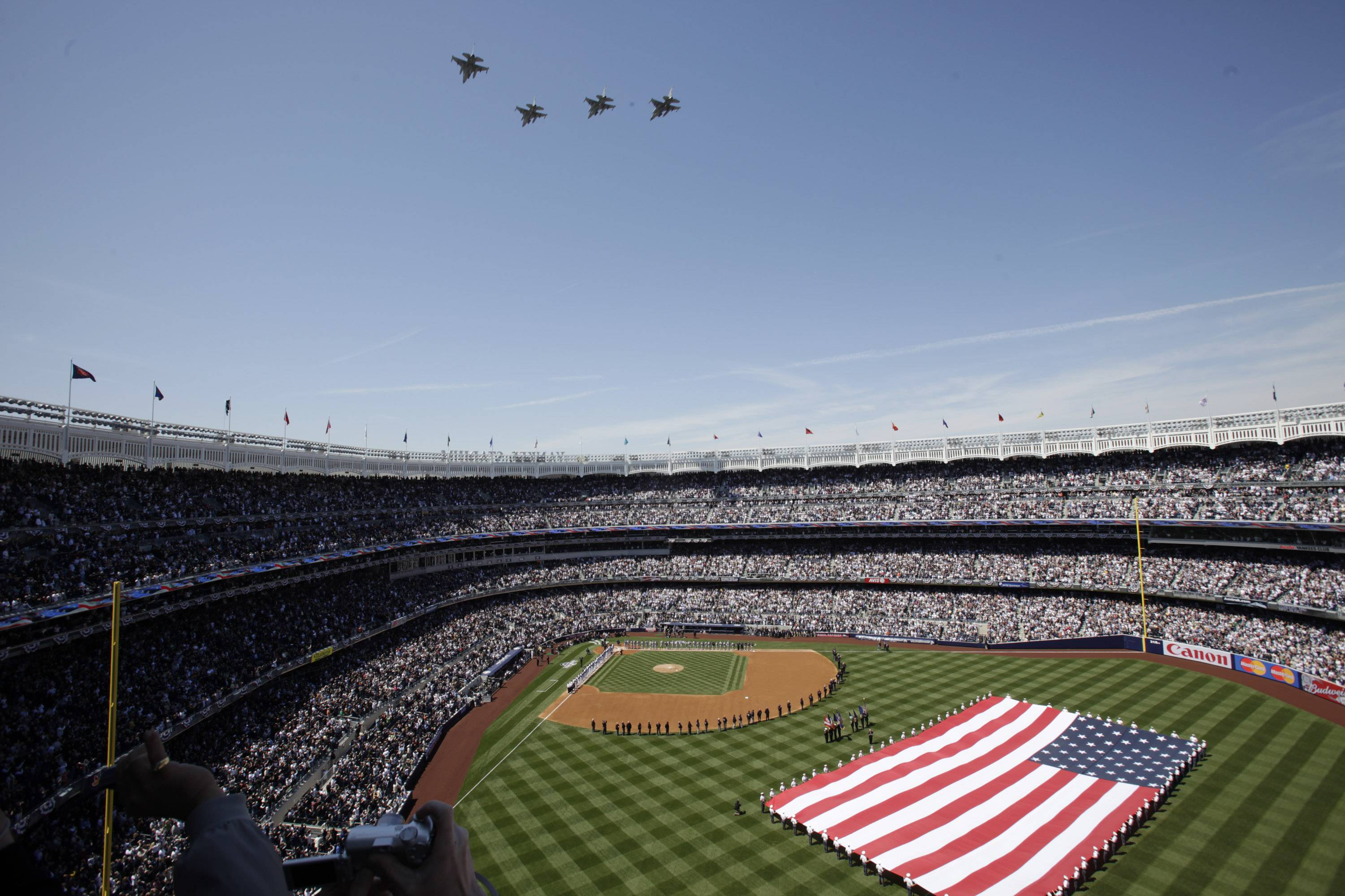 Yankee Stadium New York City Wallpaper Wide or HD | Sports Wallpapers