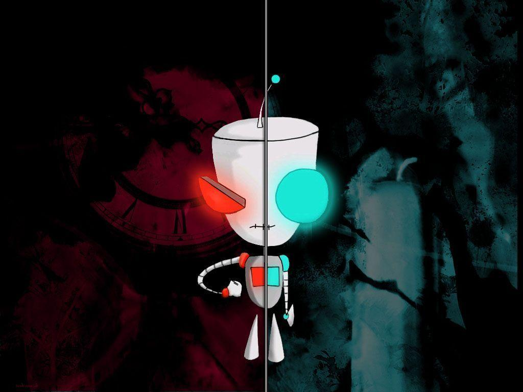 invader zim wallpaper 1024x768-#4