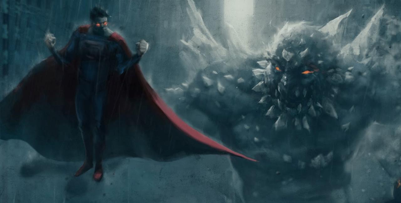 superman vs doomsday wallpapers wallpaper cave