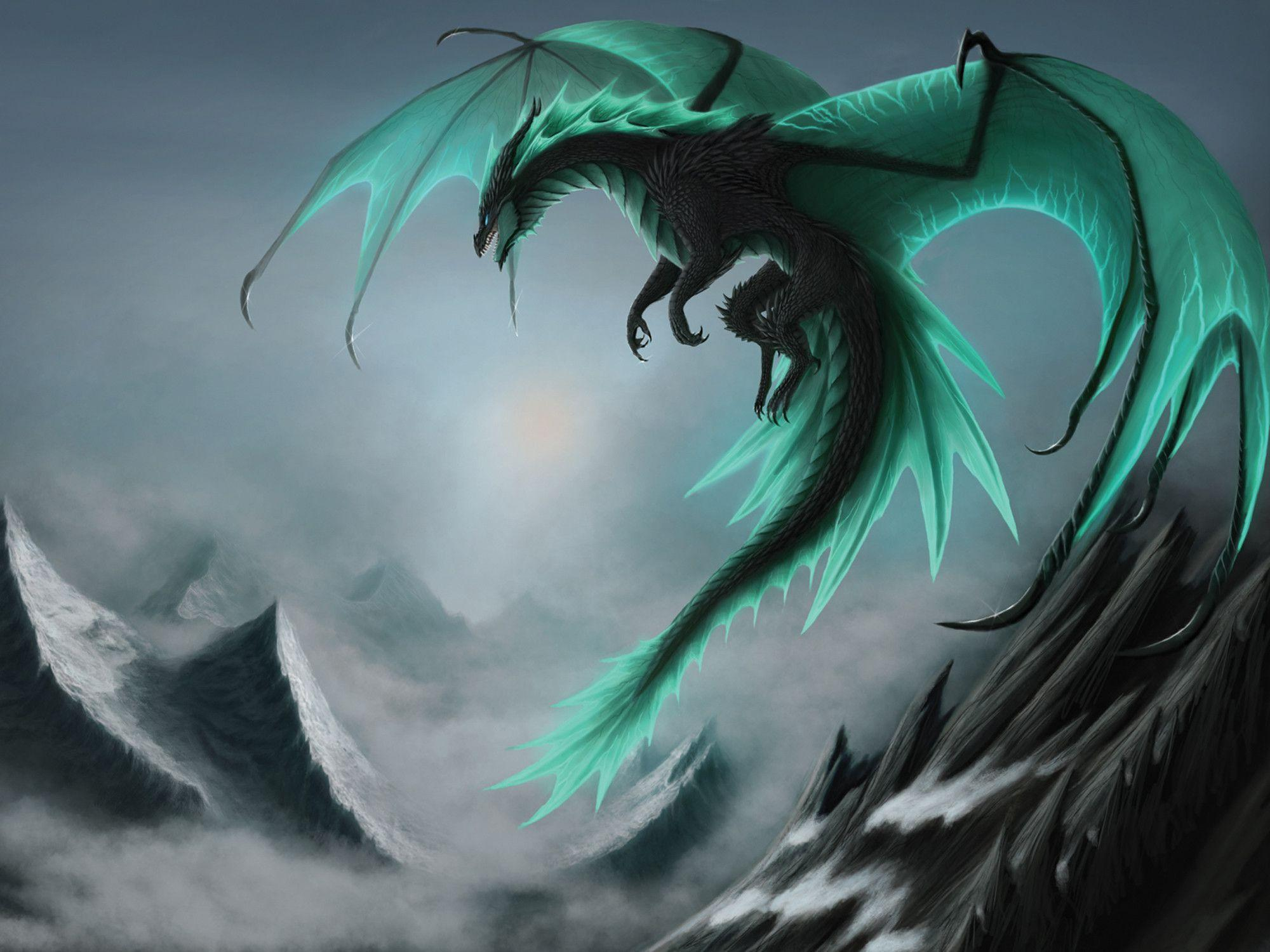 Blue Dragon Wallpapers Hd
