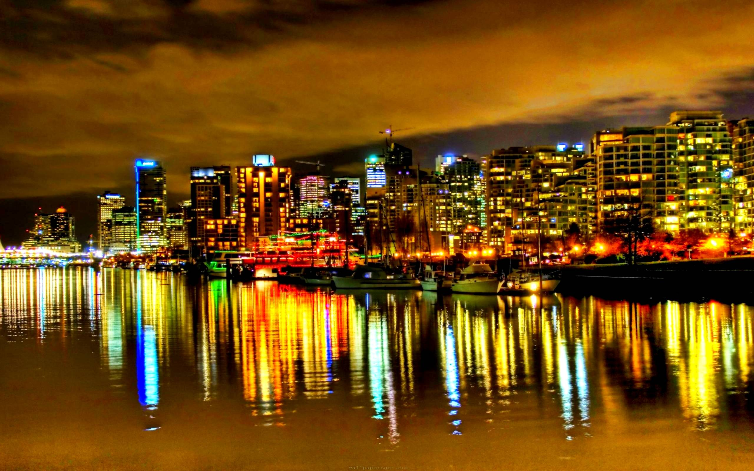 City Lights Backgrounds - Wallpaper Cave
