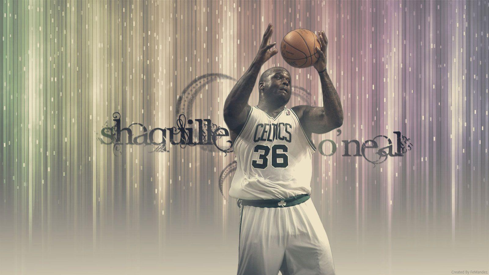Shaquille O'Neal Celtics 2011 Widescreen Wallpapers
