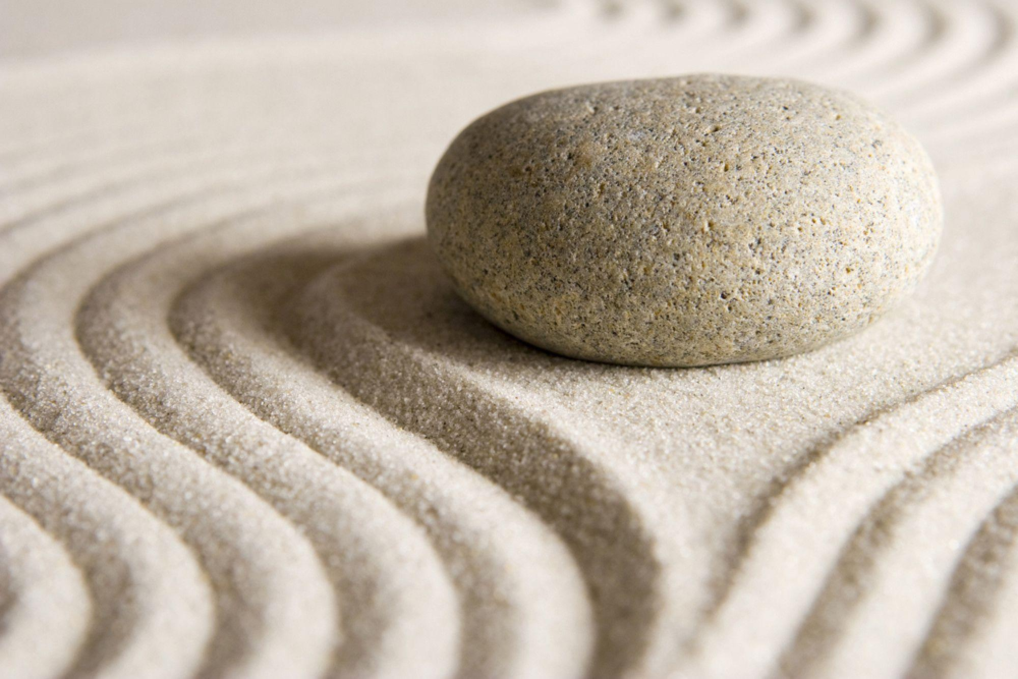 Zen Garden Sand Wallpaper