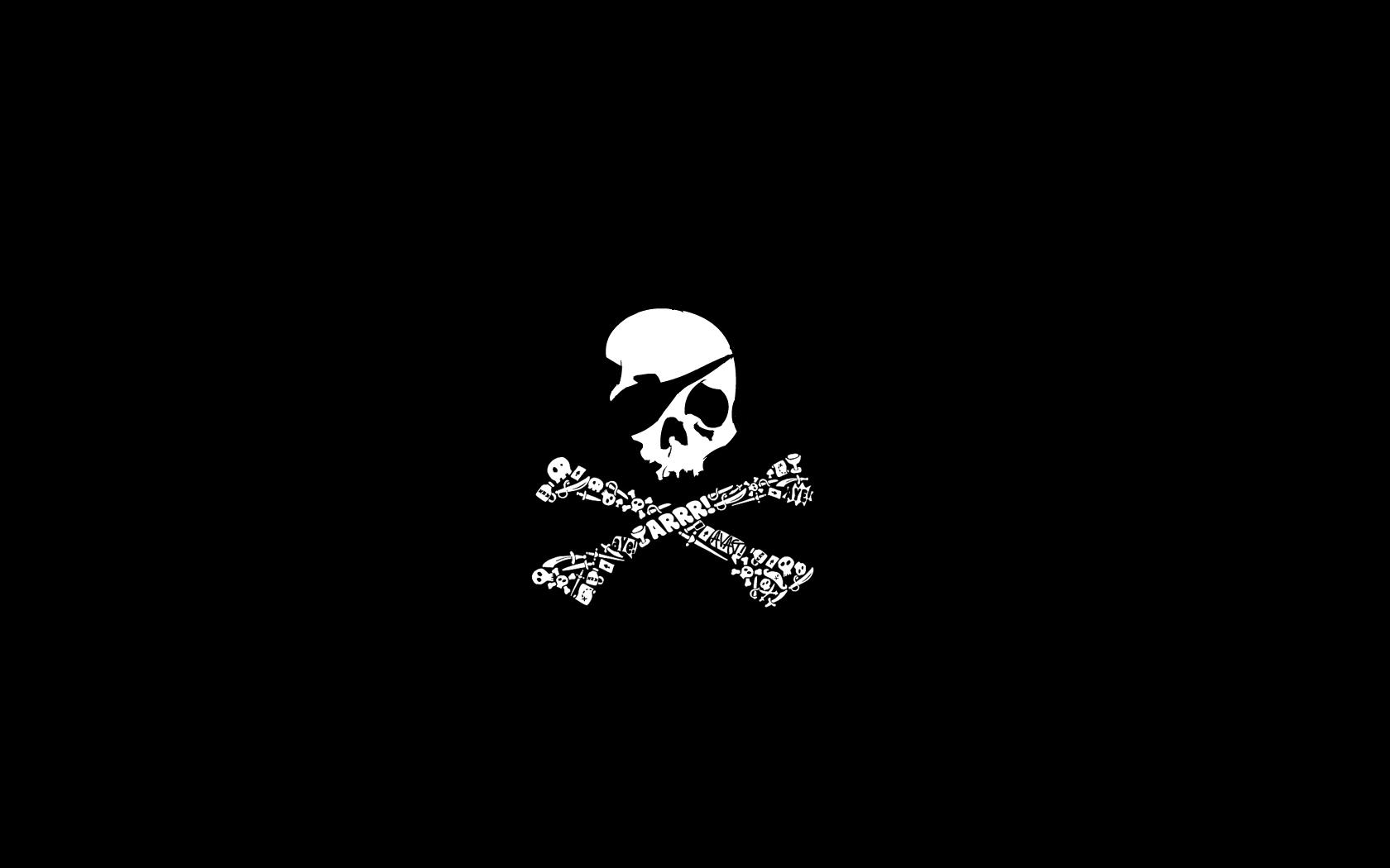 wallpaper skull bones pirate - photo #19