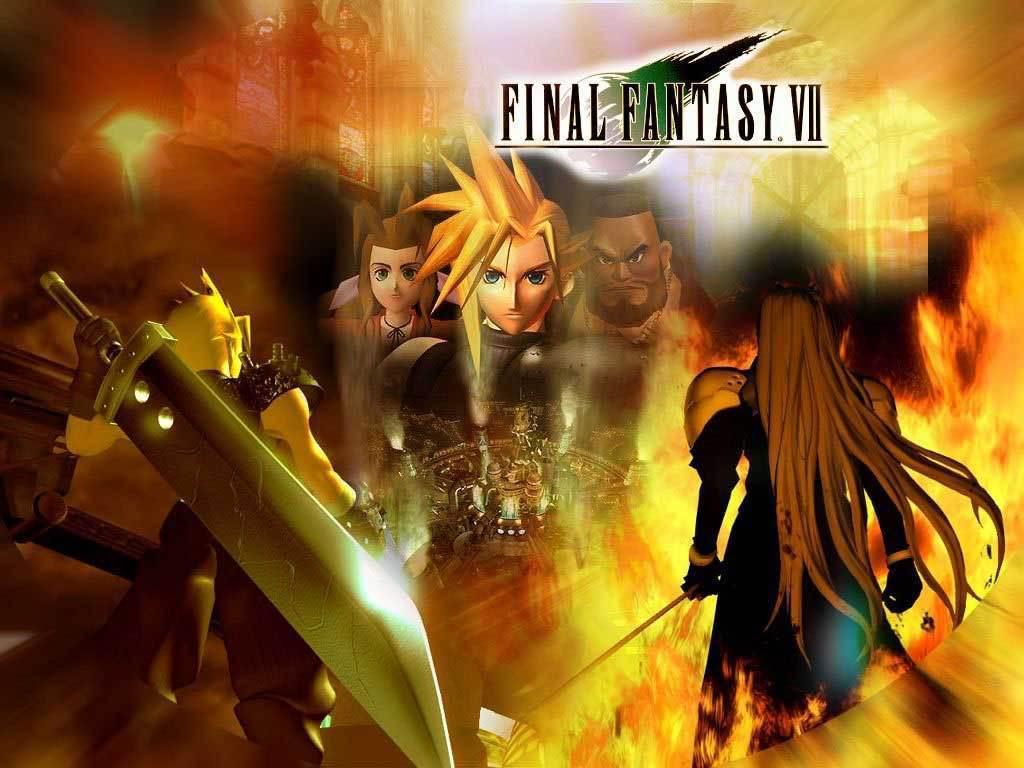 Final Fantasy VII Wallpapers - Wallpaper Cave