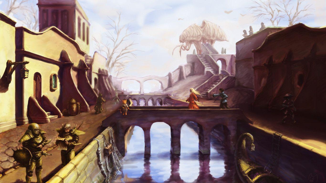 Free The Elder Scrolls III Morrowind Wallpaper In 1366x768