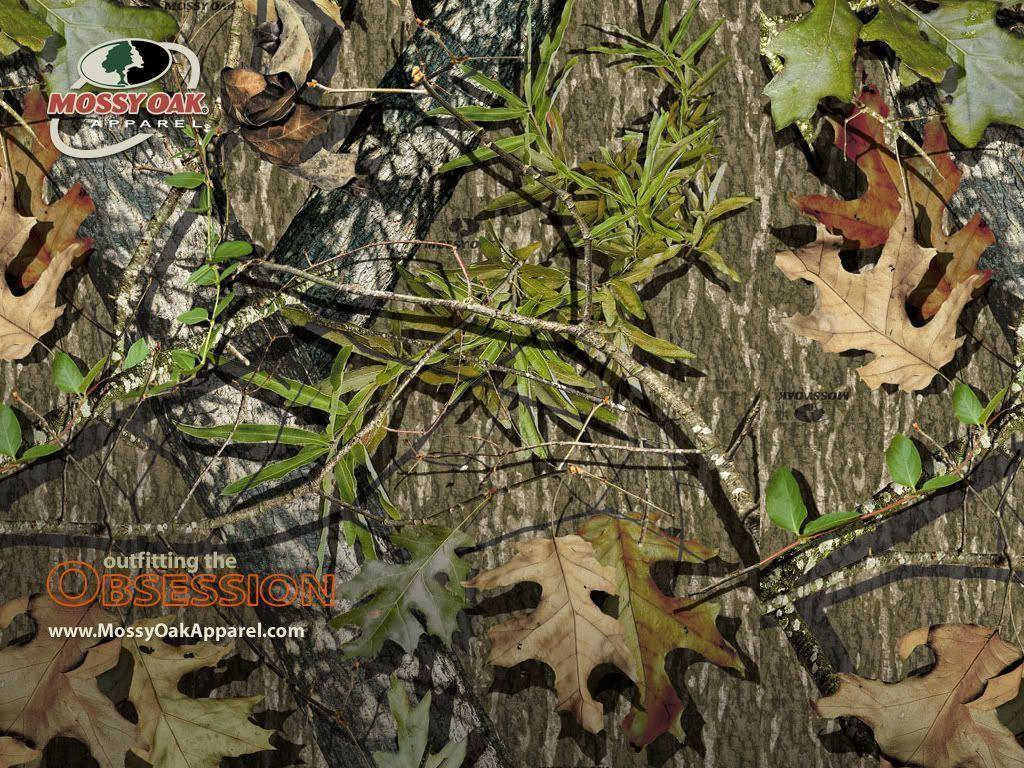 Realtree Snow Camo Background