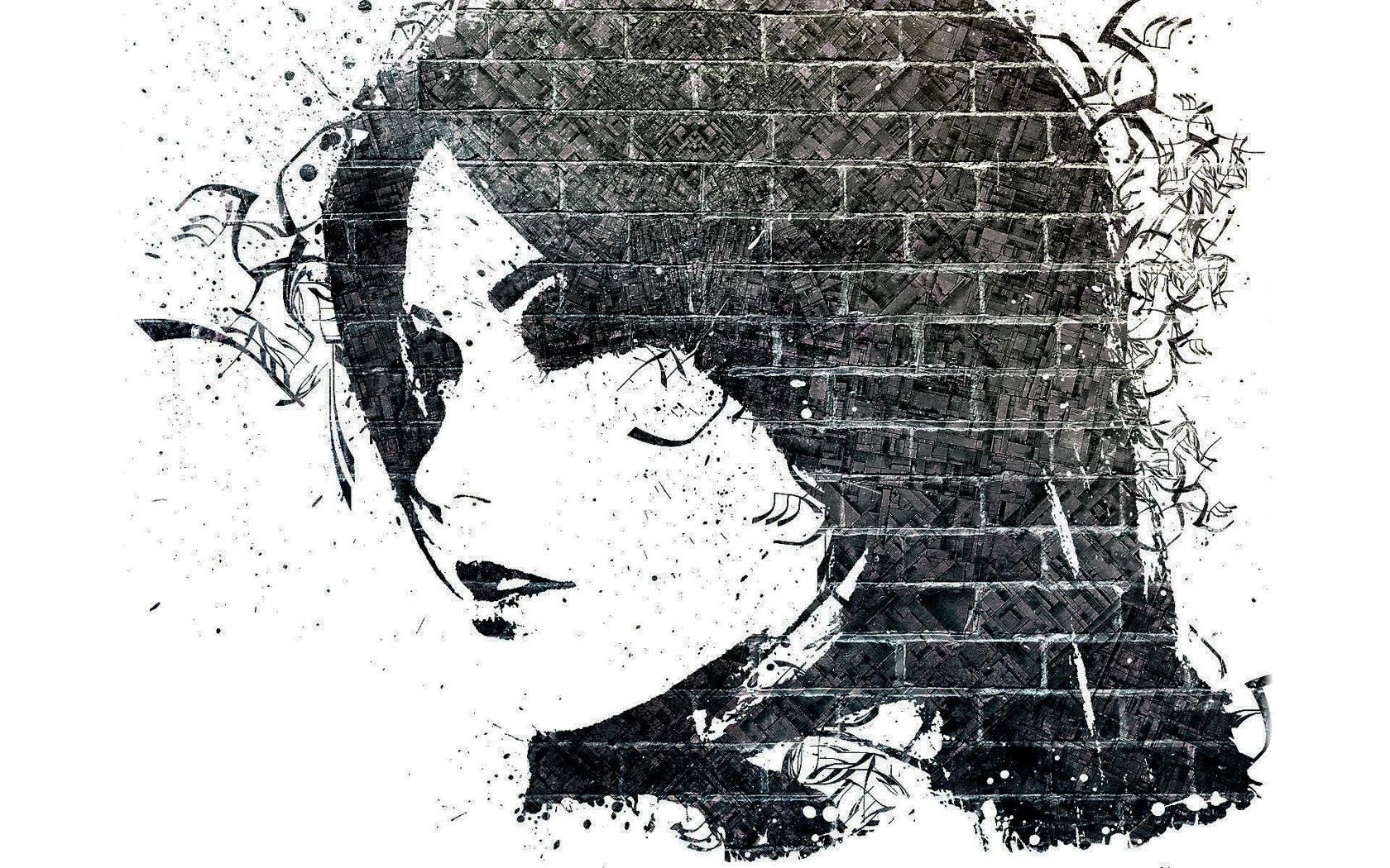 artwork black background genius - photo #11