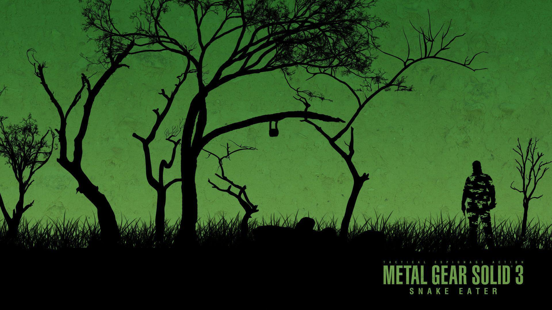 Metal Gear Solid 3 Wallpapers Wallpaper Cave