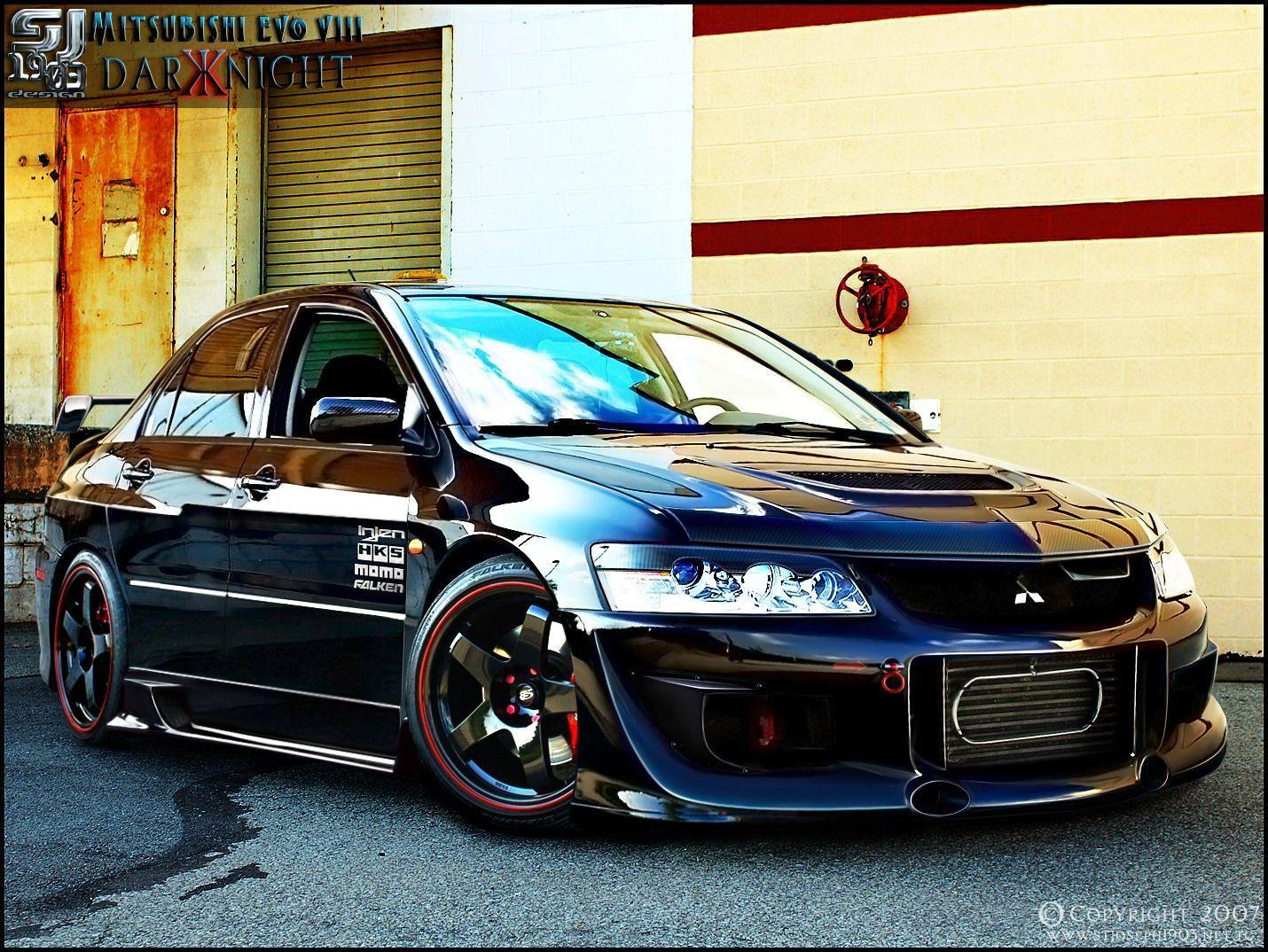 Images For > Modified Mitsubishi Evo 8