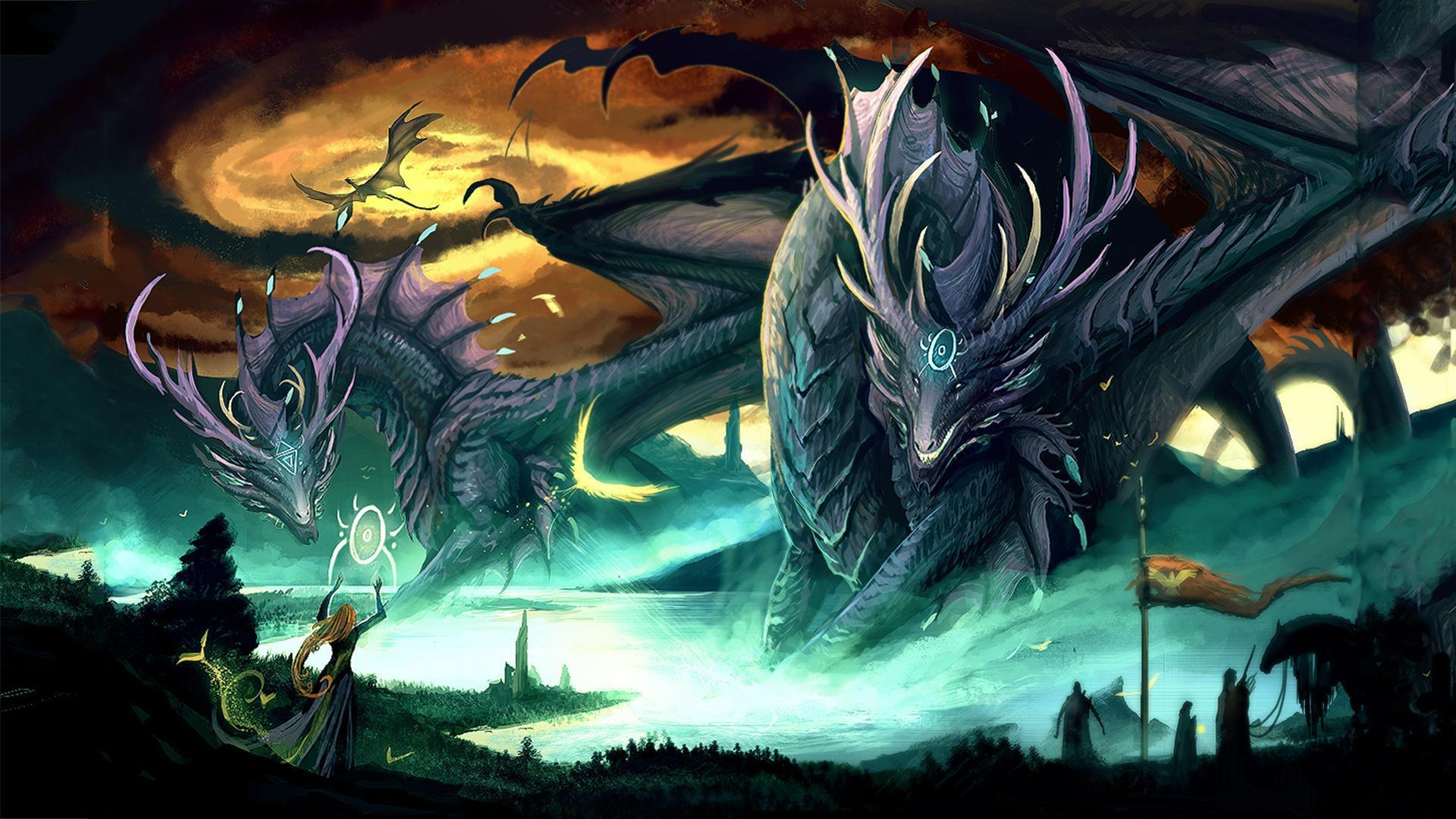dragon wallpaper widescreen high resolution - photo #7