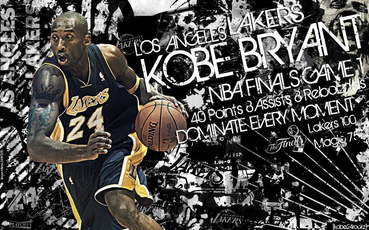 Kobe Bryant Finals Wallpapers by IshaanMishra