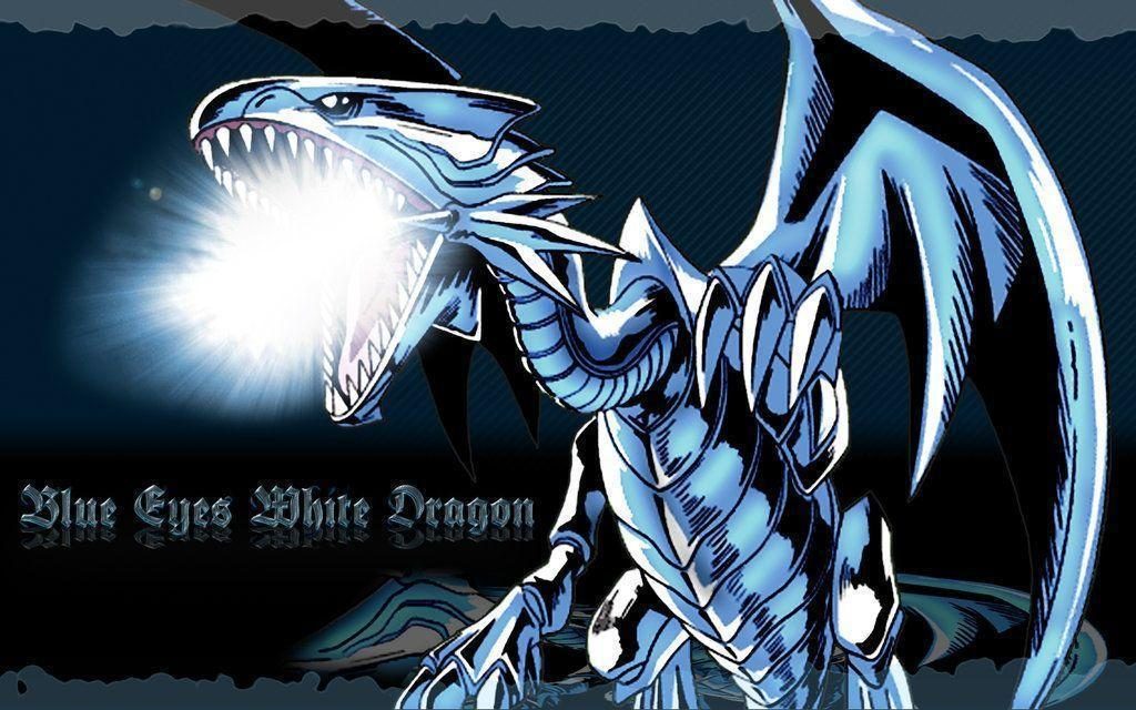 Blue Eyes White Dragon 2 Wallpapers and Backgrounds