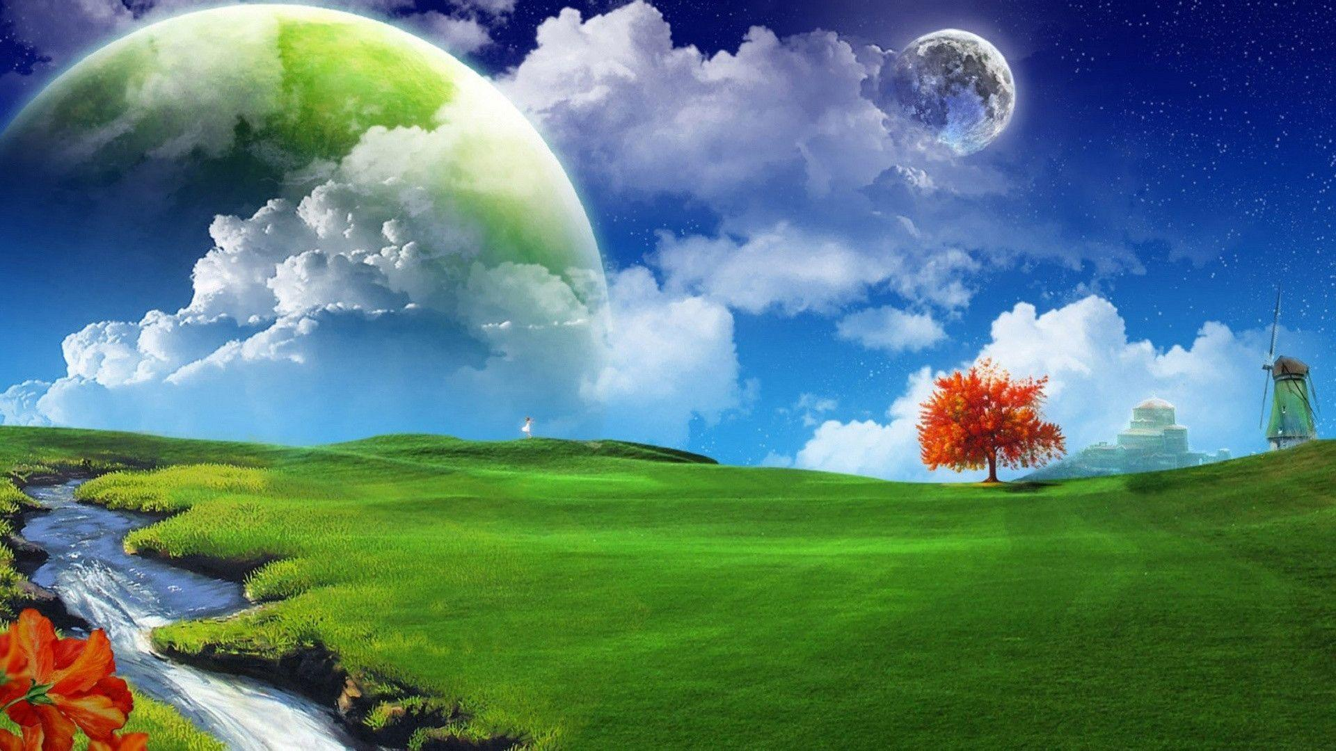 Dreamy Landscape Wallpapers For 1920x1080 Hdtv 1080p 15 416