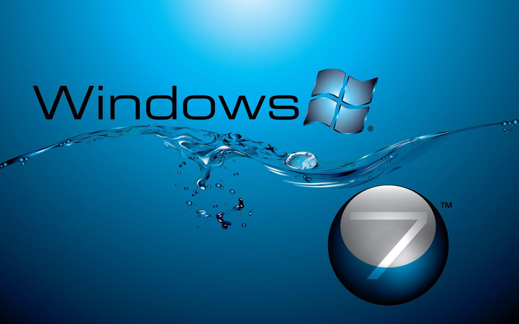 Wallpaper downloader for windows 7 - Windows 7 In Water Flow Wallpapers Hd Wallpapers