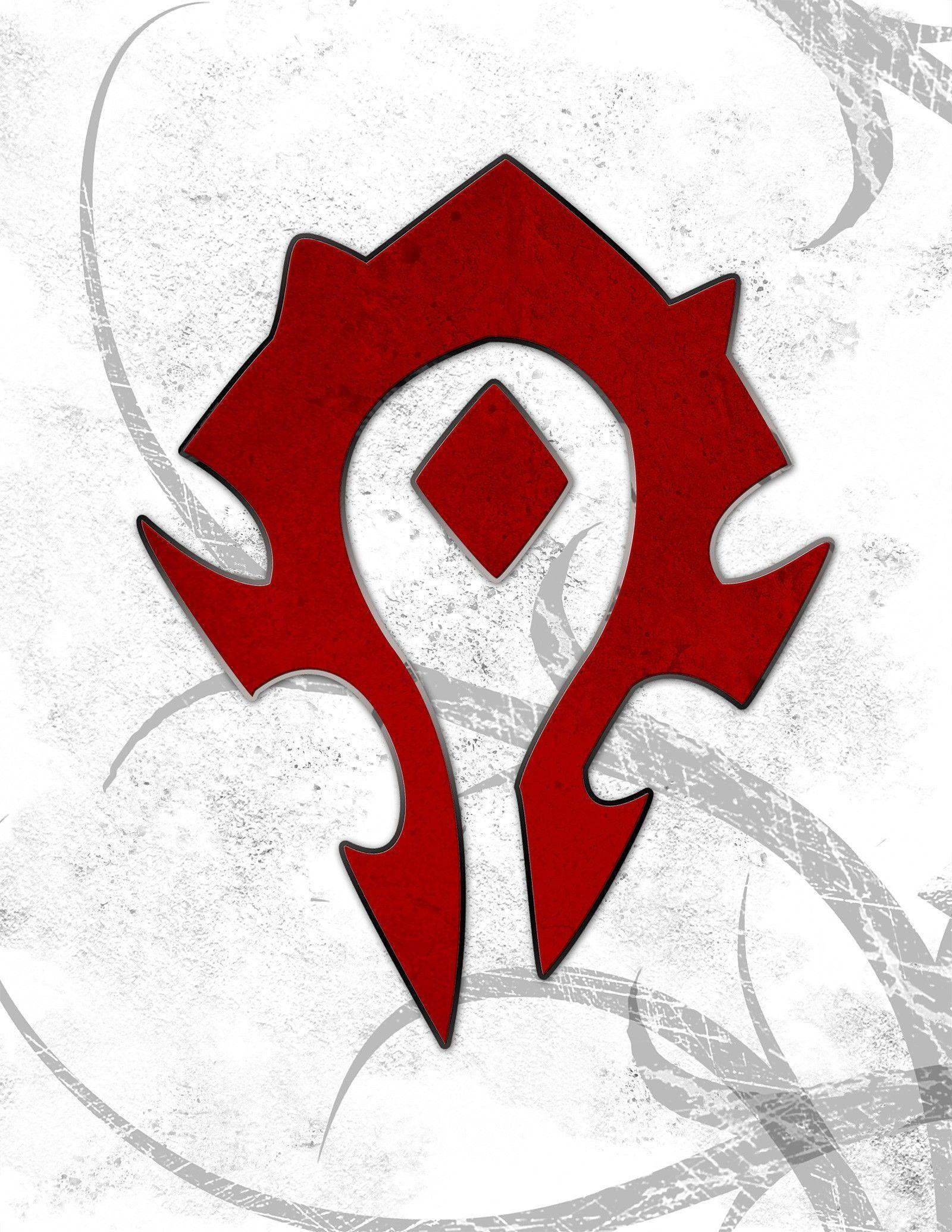 Image For > World Of Warcraft Horde Logo
