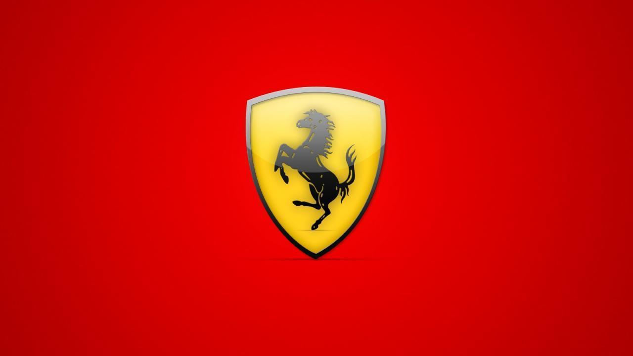 Red Ferrari Logo Background Wallpaper Desktop #6156 Wallpaper ...