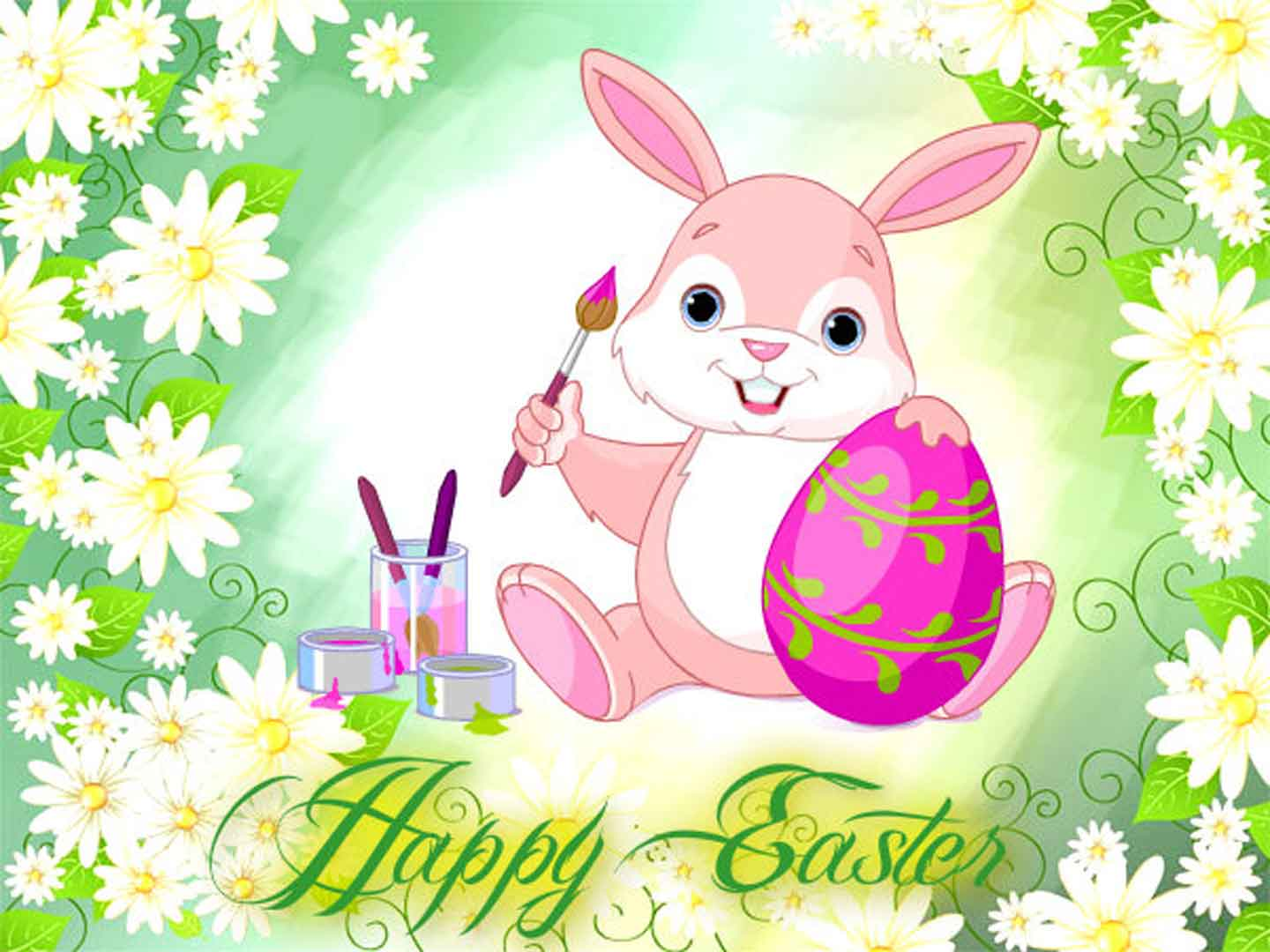 Happy Easter Cute Bunny Wallpapers Wallpapers HD, Wallpaper, Happy