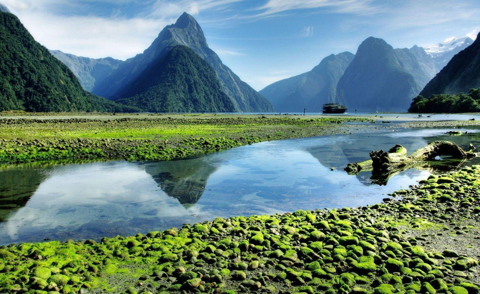 Milford Sound Wallpapers Wallpaper Cave