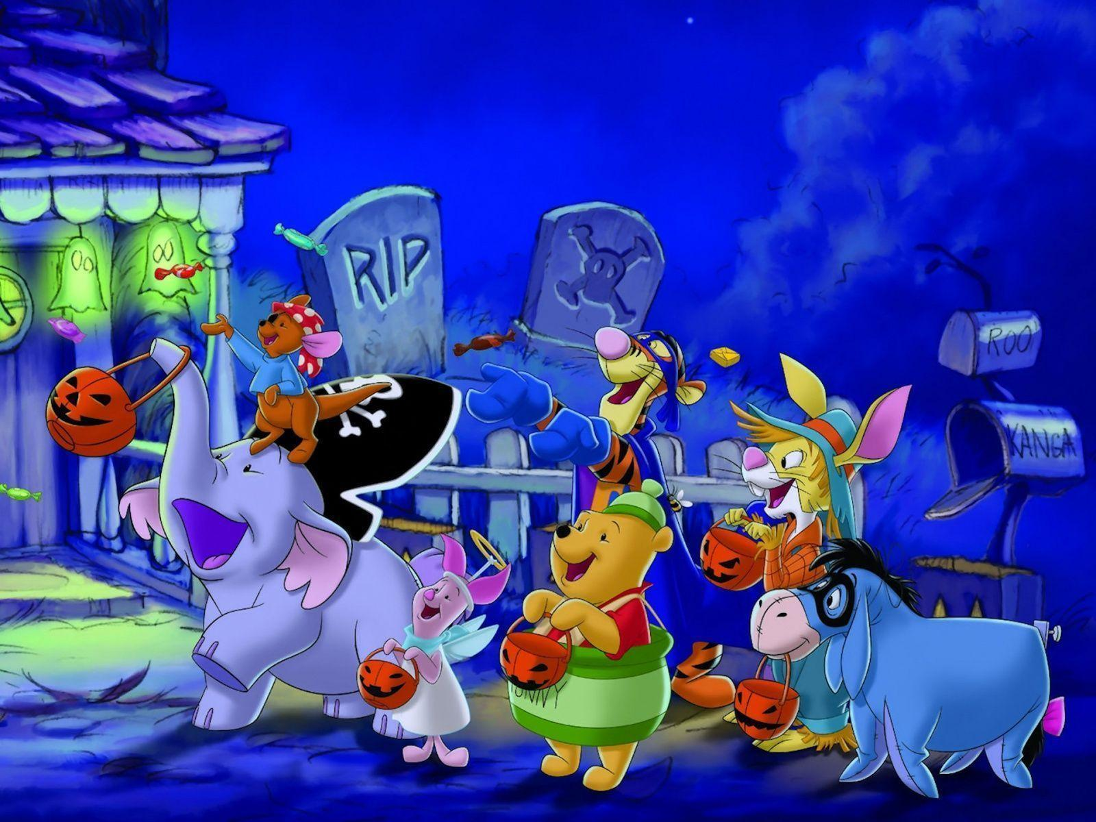 Wallpapers For Disney Halloween Wallpaper Backgrounds