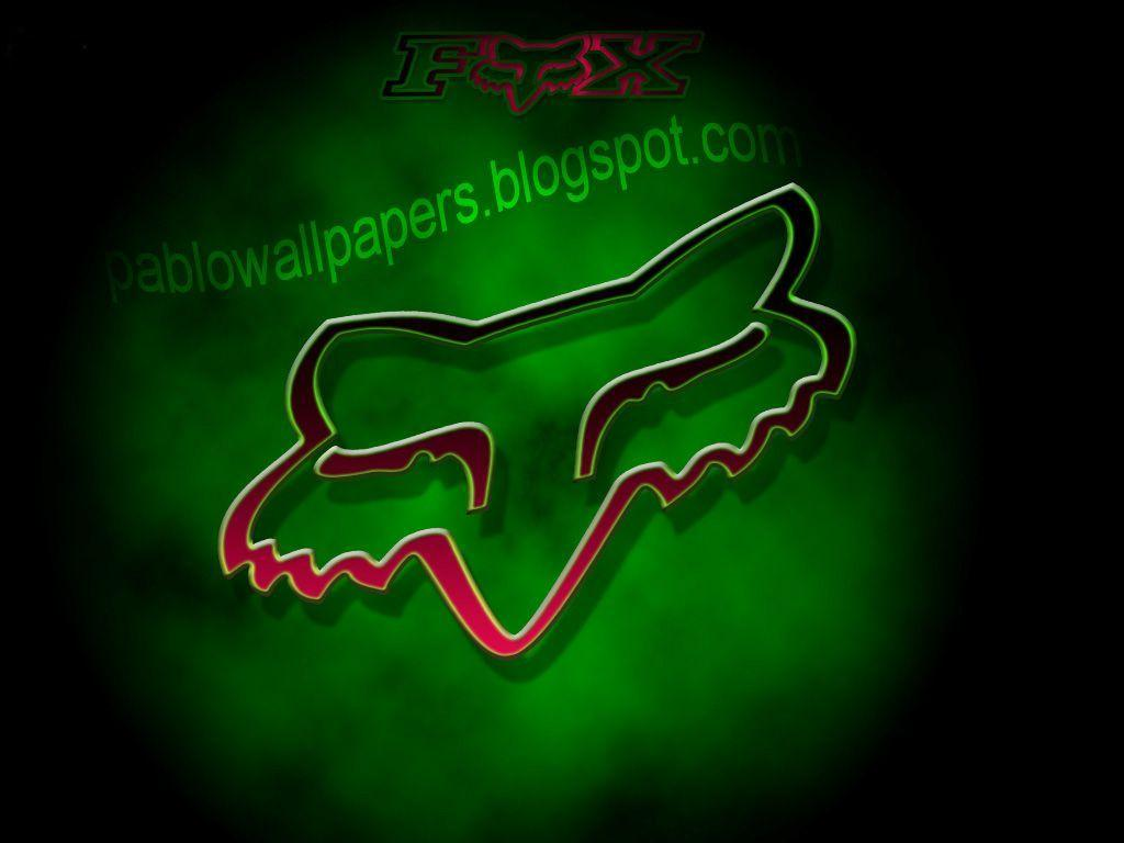 Wallpapers For > Fox Racing Logo Wallpapers