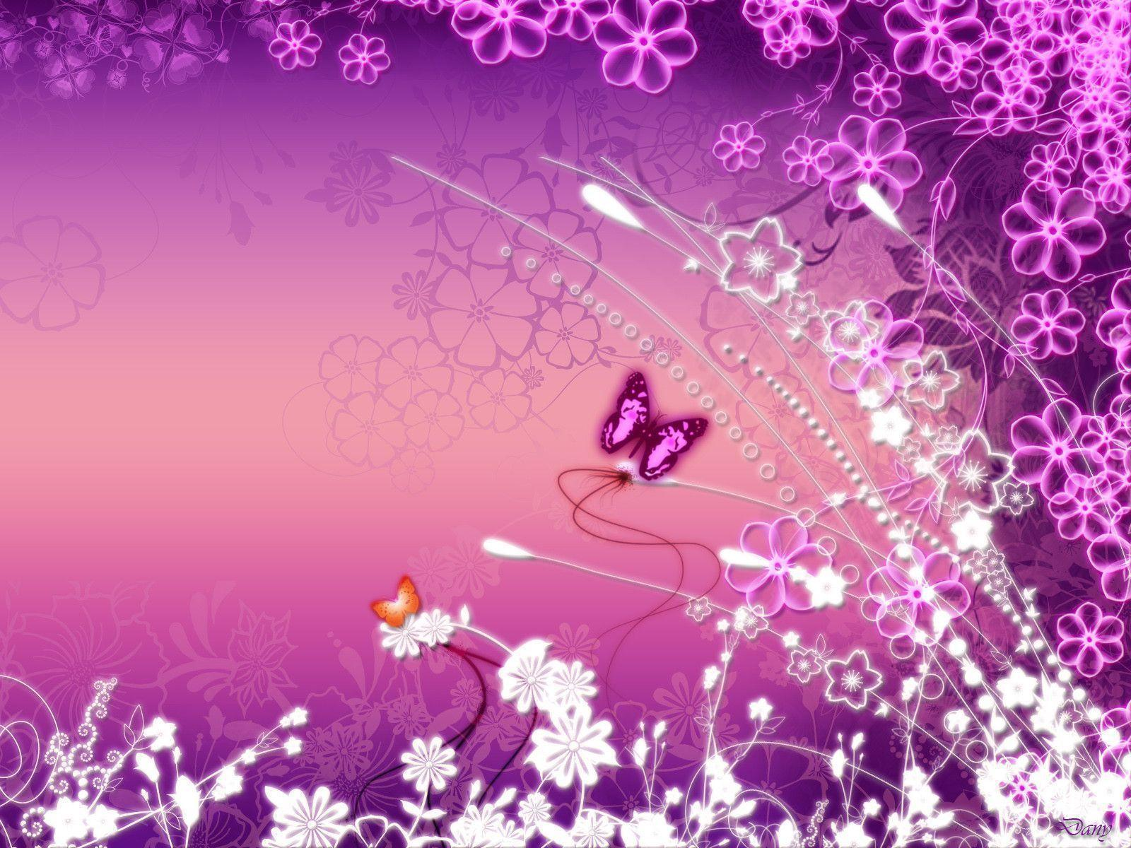 butterfly free wallpaper pink butterfly wallpaper