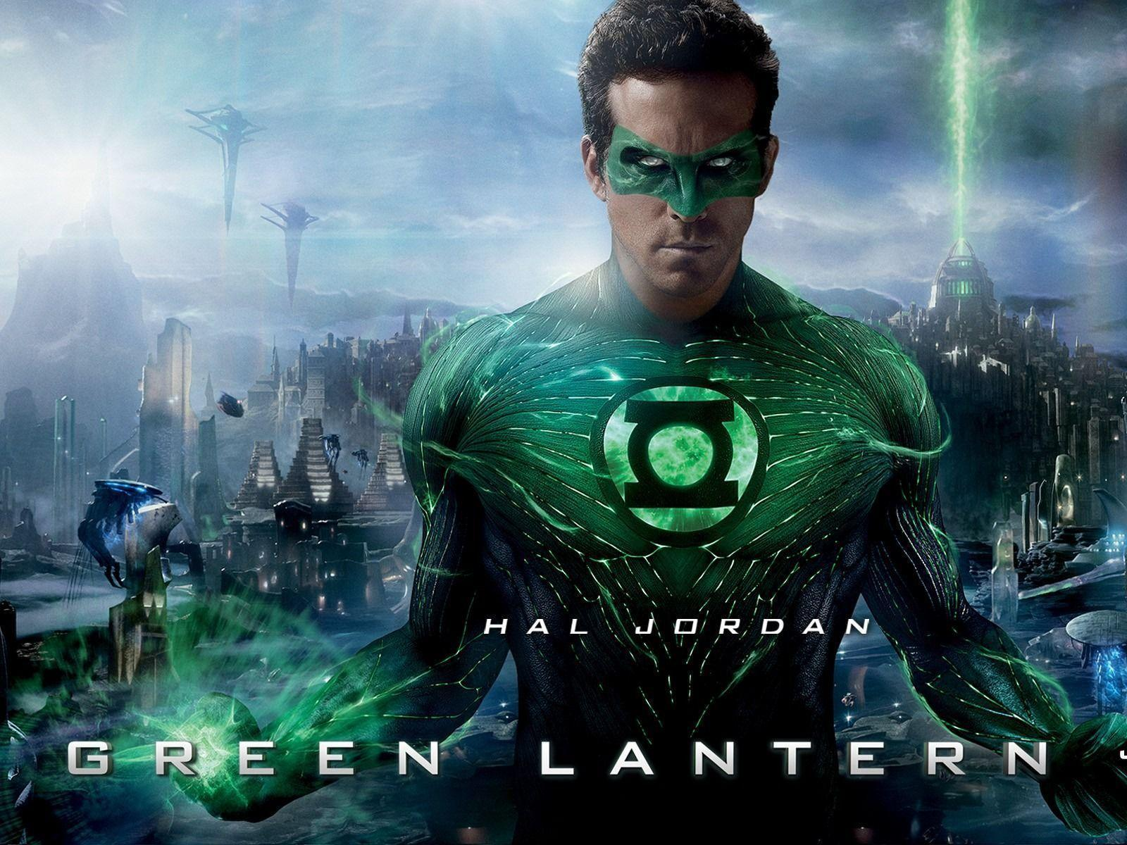 Green Lantern movie poster wallpapers 03