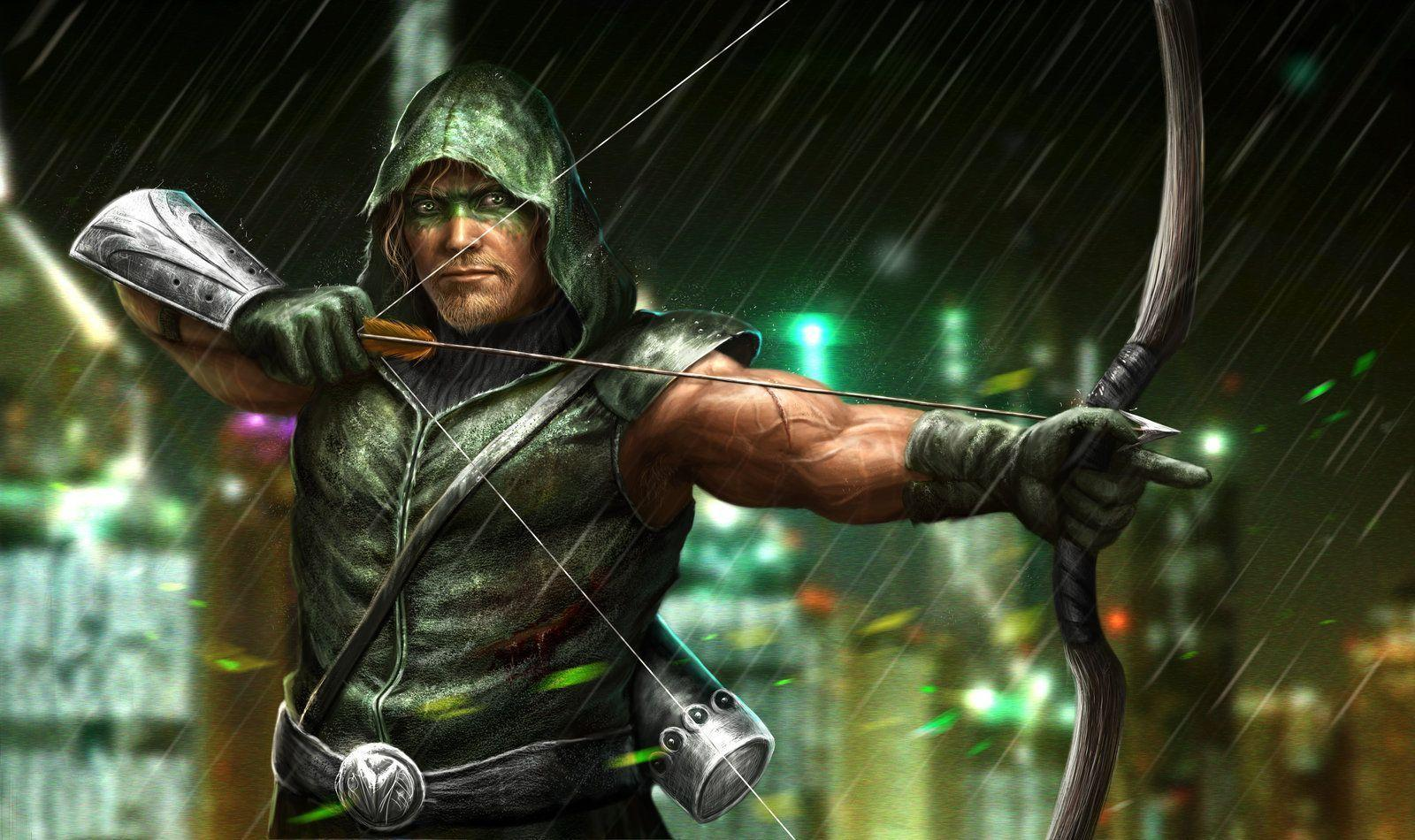 Want a good wallpapers of Green Arrow ? : arrow