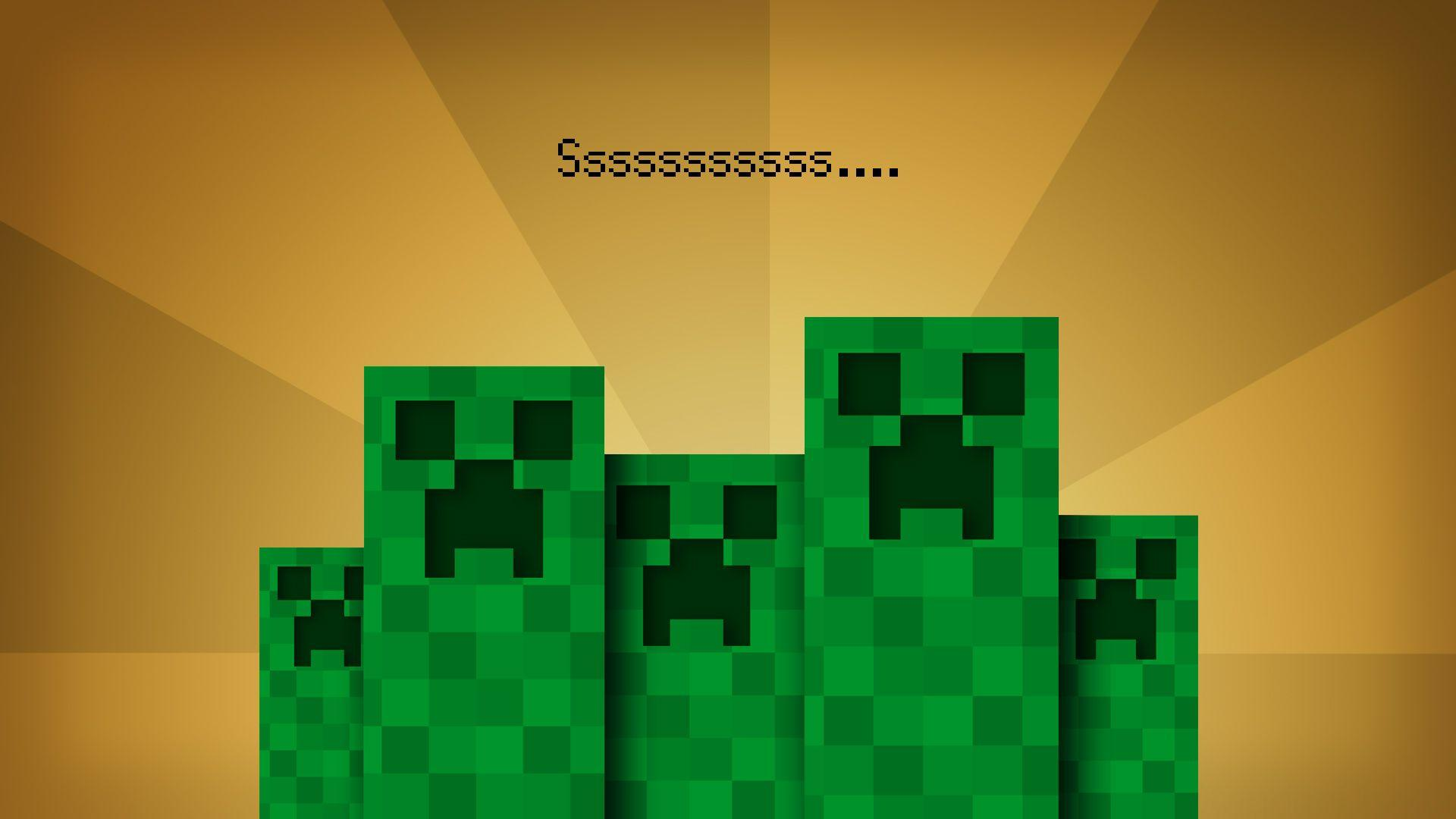 Creeper Face Wallpaper - Viewing Gallery