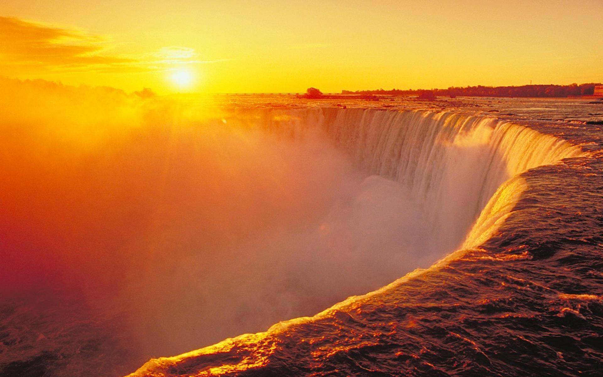 Niagara falls wallpapers wallpaper cave for Tramonto hd