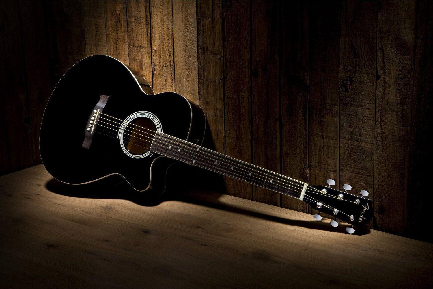 Wallpapers For Vintage Acoustic Guitar Wallpaper