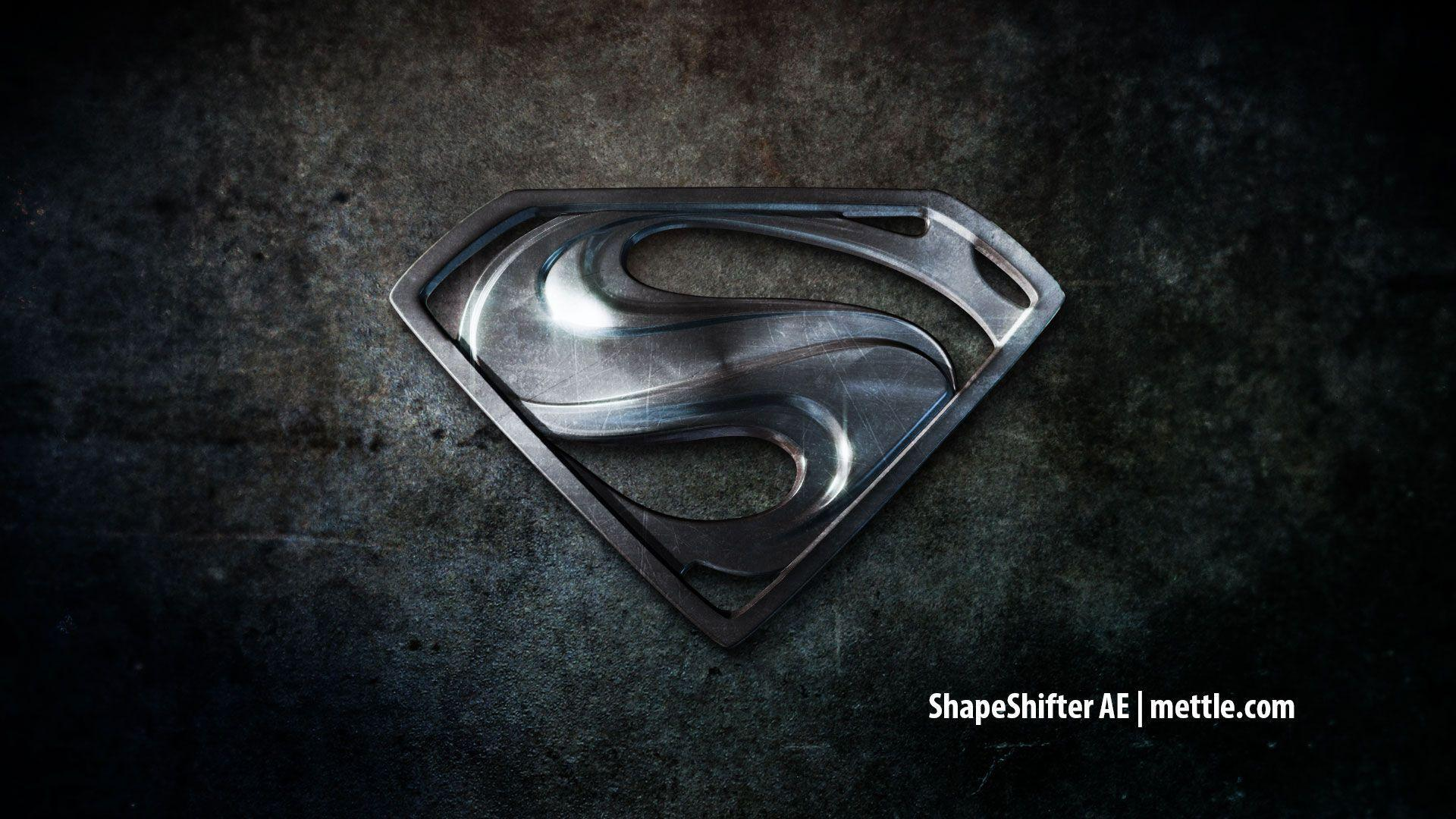 Wallpapers For > Black Superman Logo Wallpapers