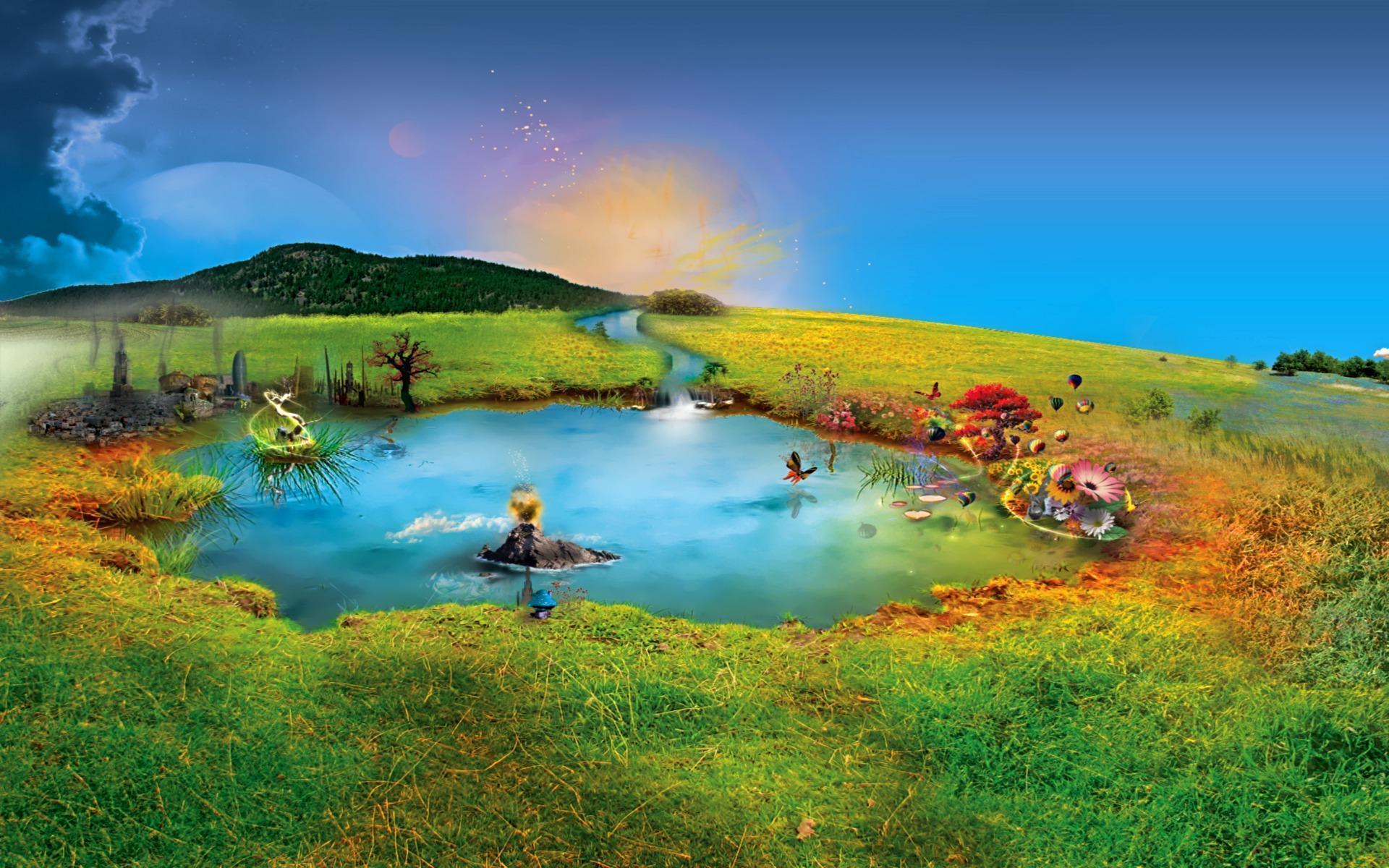 Fantasy World Hd