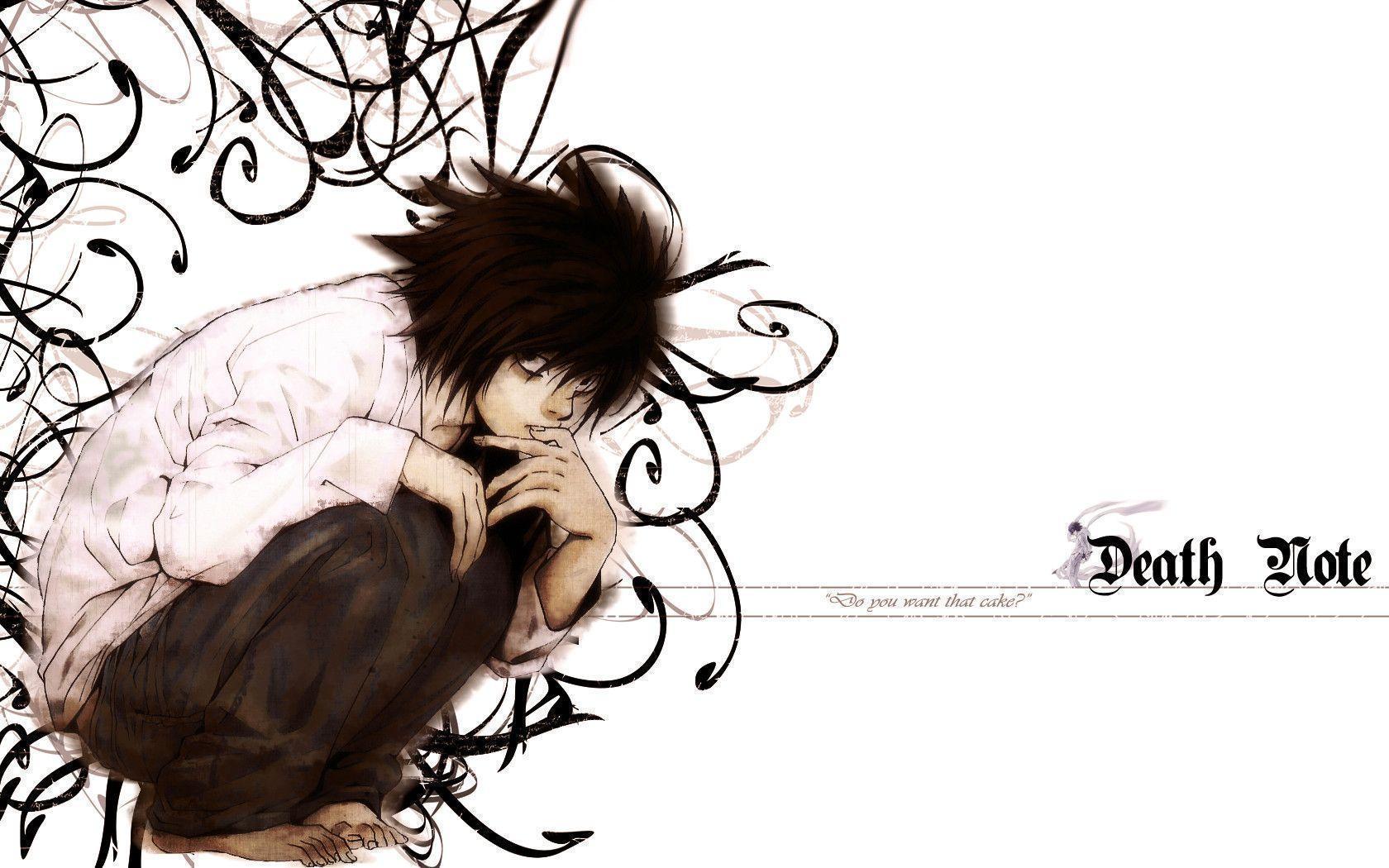Death Note L Wallpapers - Wallpaper Cave