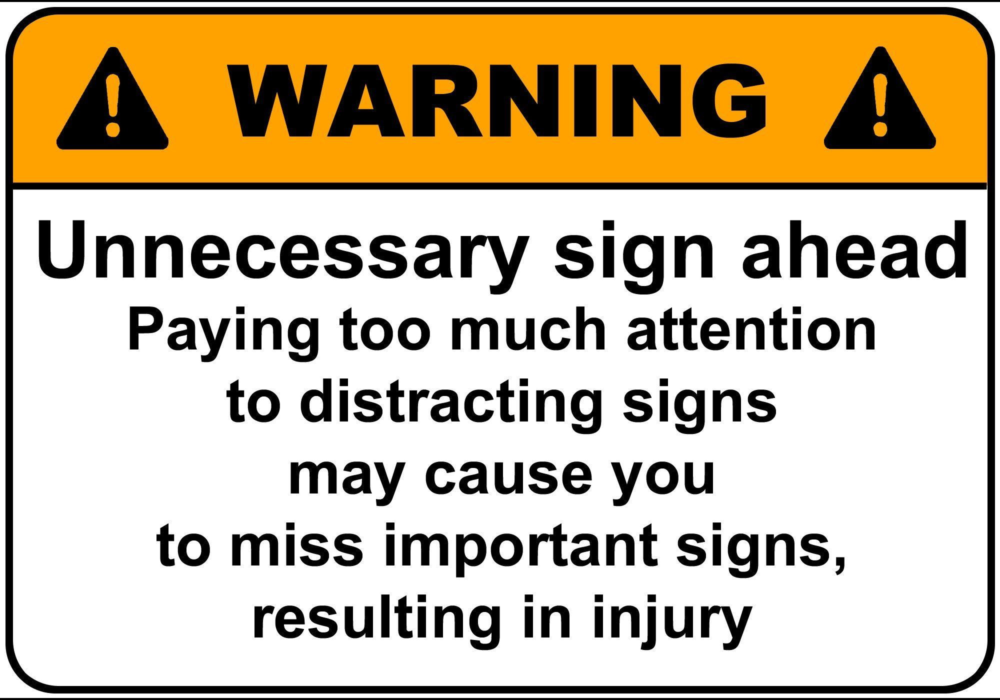 Funny Warning Signs Wallpapers - Wallpaper Cave