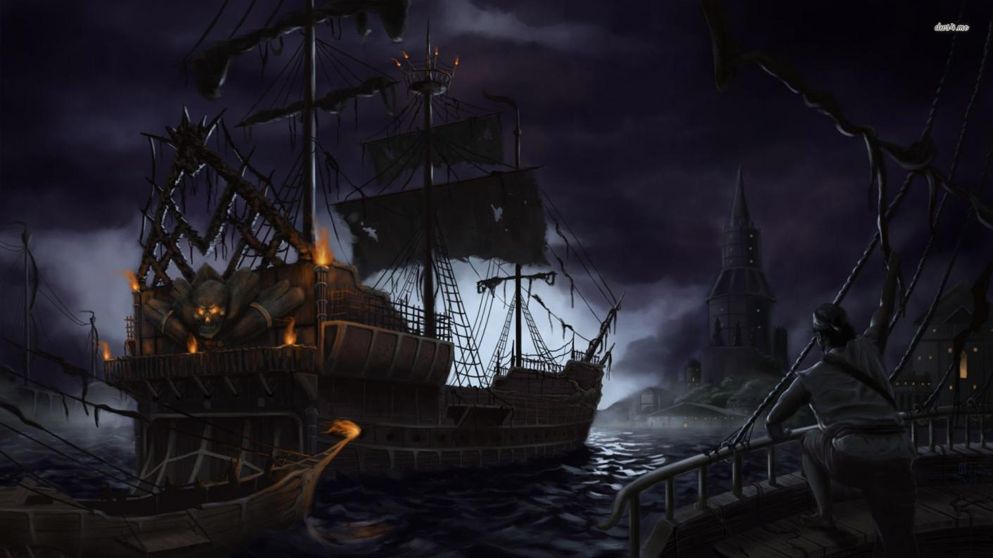 pirate wallpaper 1600x900 - photo #5