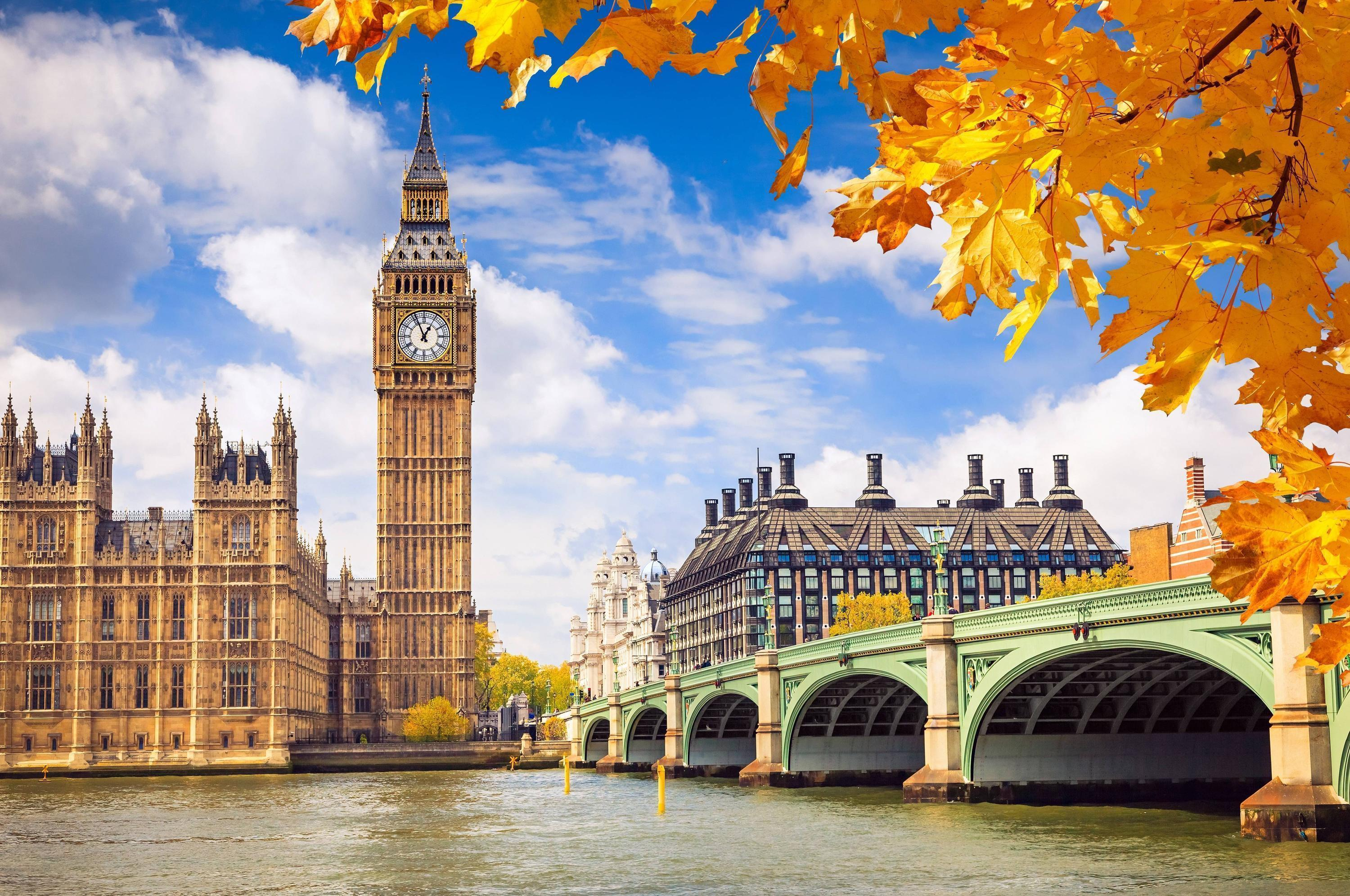 Wallpapers london, england, westminster palace, big ben, great
