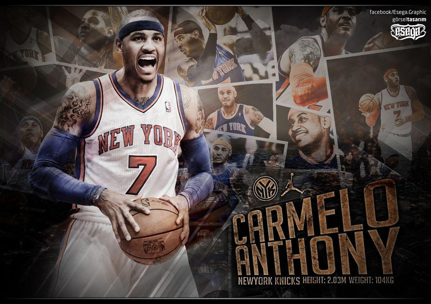 Carmelo Anthony Wallpapers by EsegaGraphic