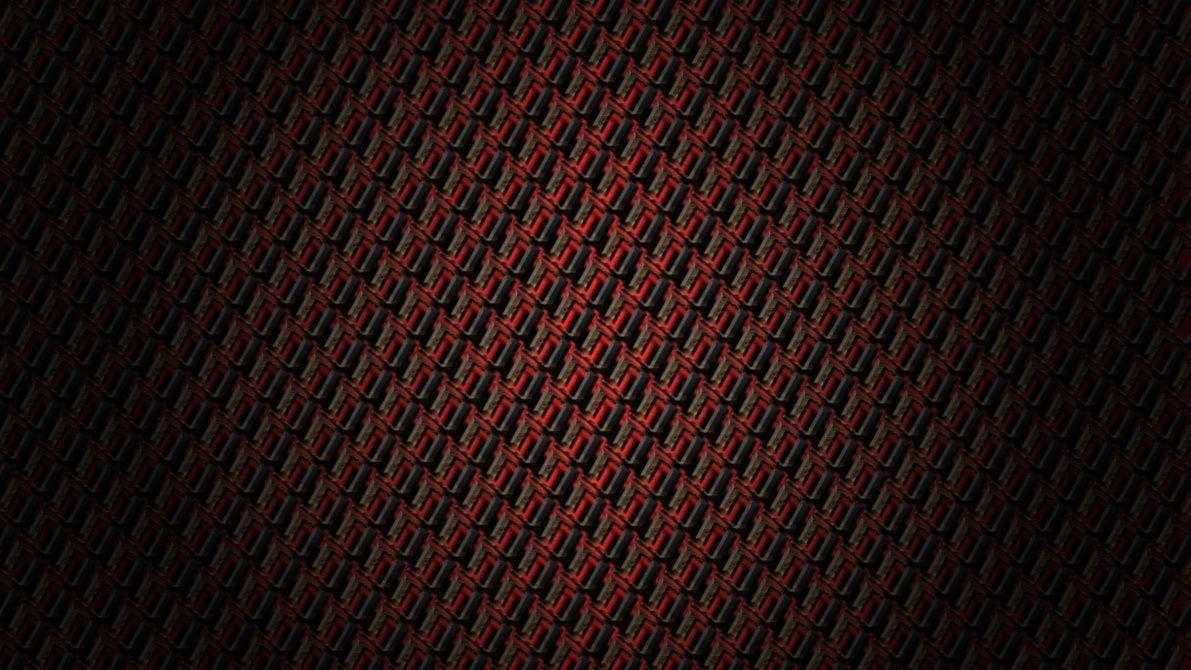 Abstract Wallpaper: Dark Red Weave Abstract Wallpaper by Merrdyn